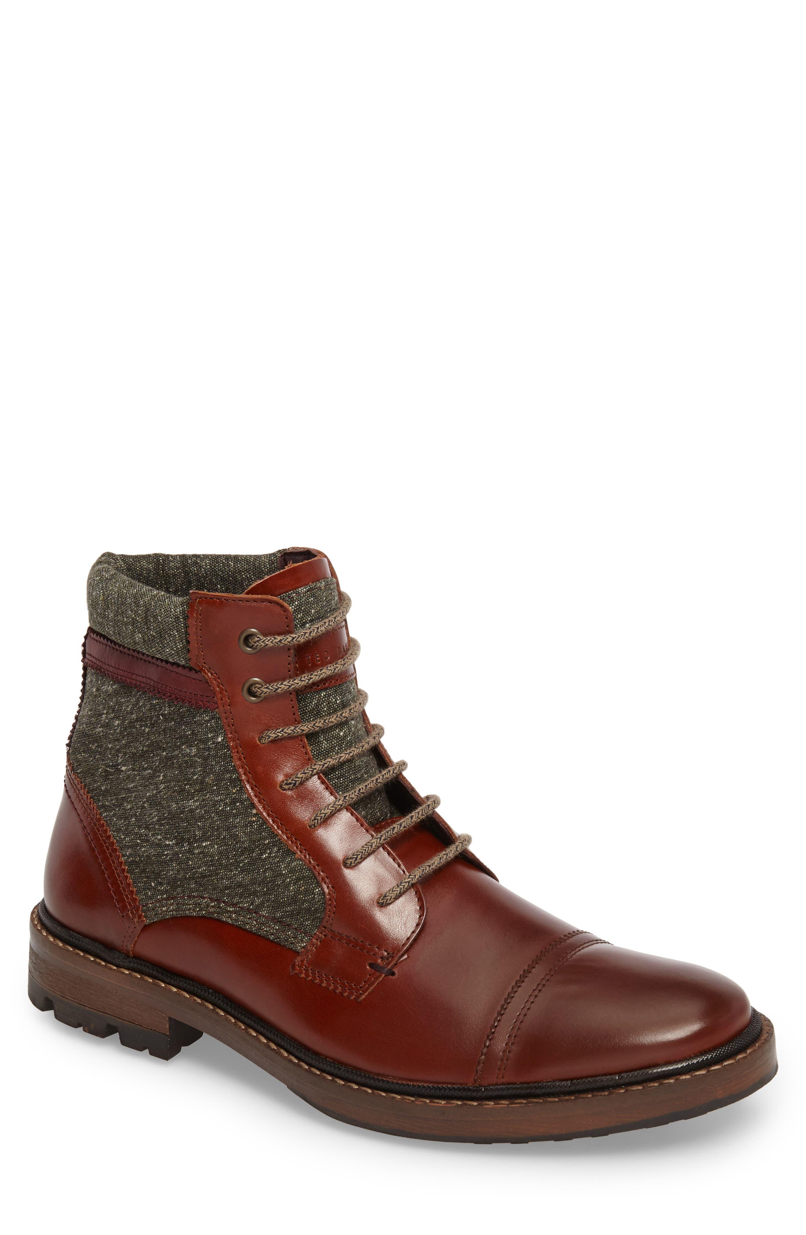 Alternate Image 1 Selected - Ted Baker London Ruulen Cap Toe Boot (Men)