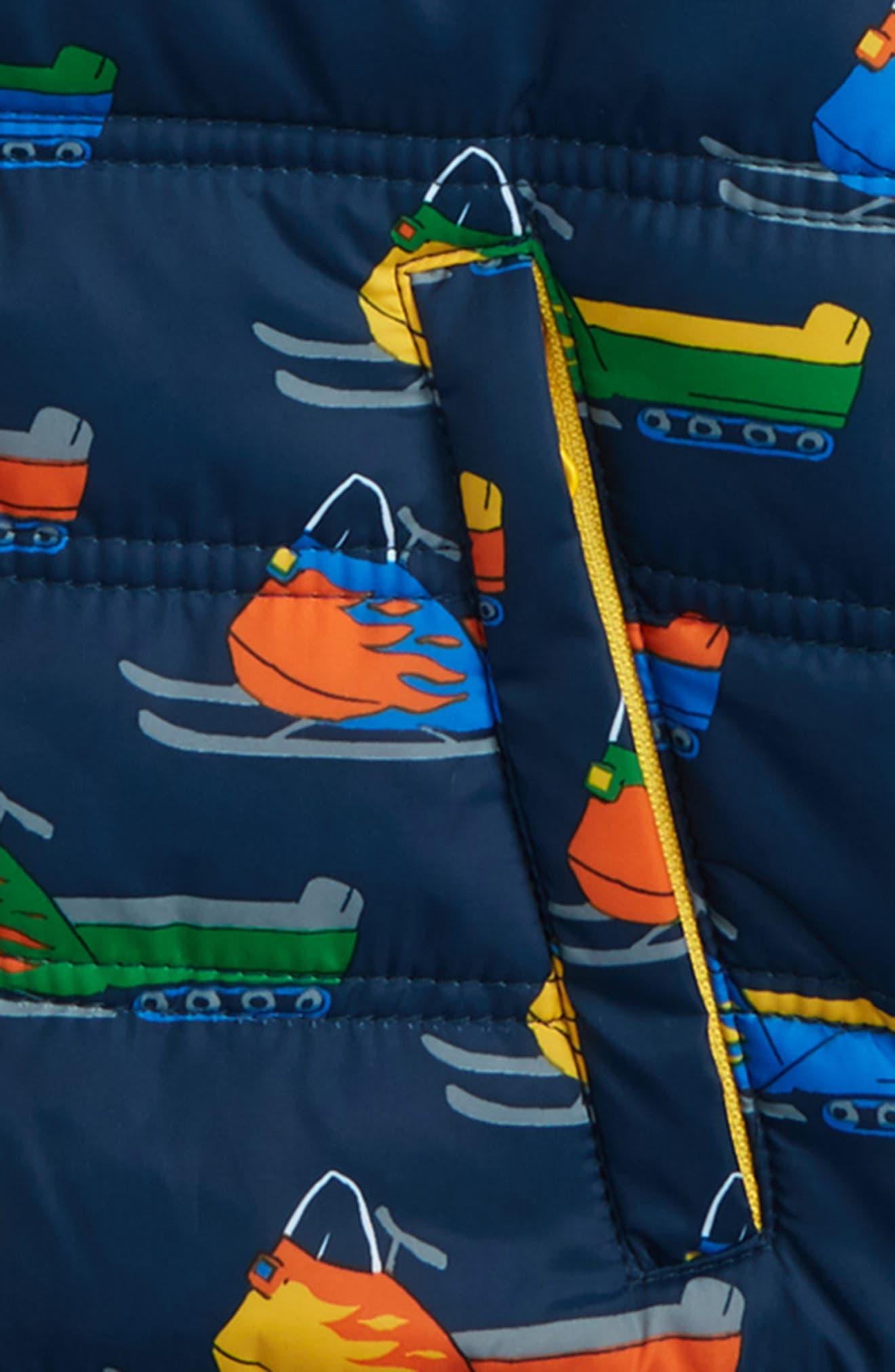 Alternate Image 2  - Hatley Bobsled Print Puffer Jacket (Toddler Boys, Little Boys & Big Boys)
