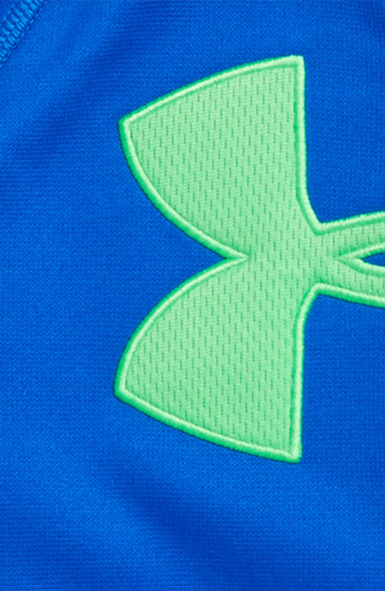 Alternate Image 2  - Under Armour Big Logo Hoodie (Toddler Boys & Little Boys)