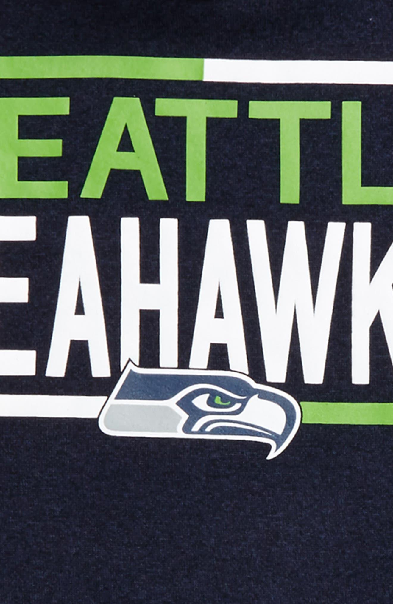 Alternate Image 2  - Outerstuff NFL Seattle Seahawks Hoodie (Big Girls)