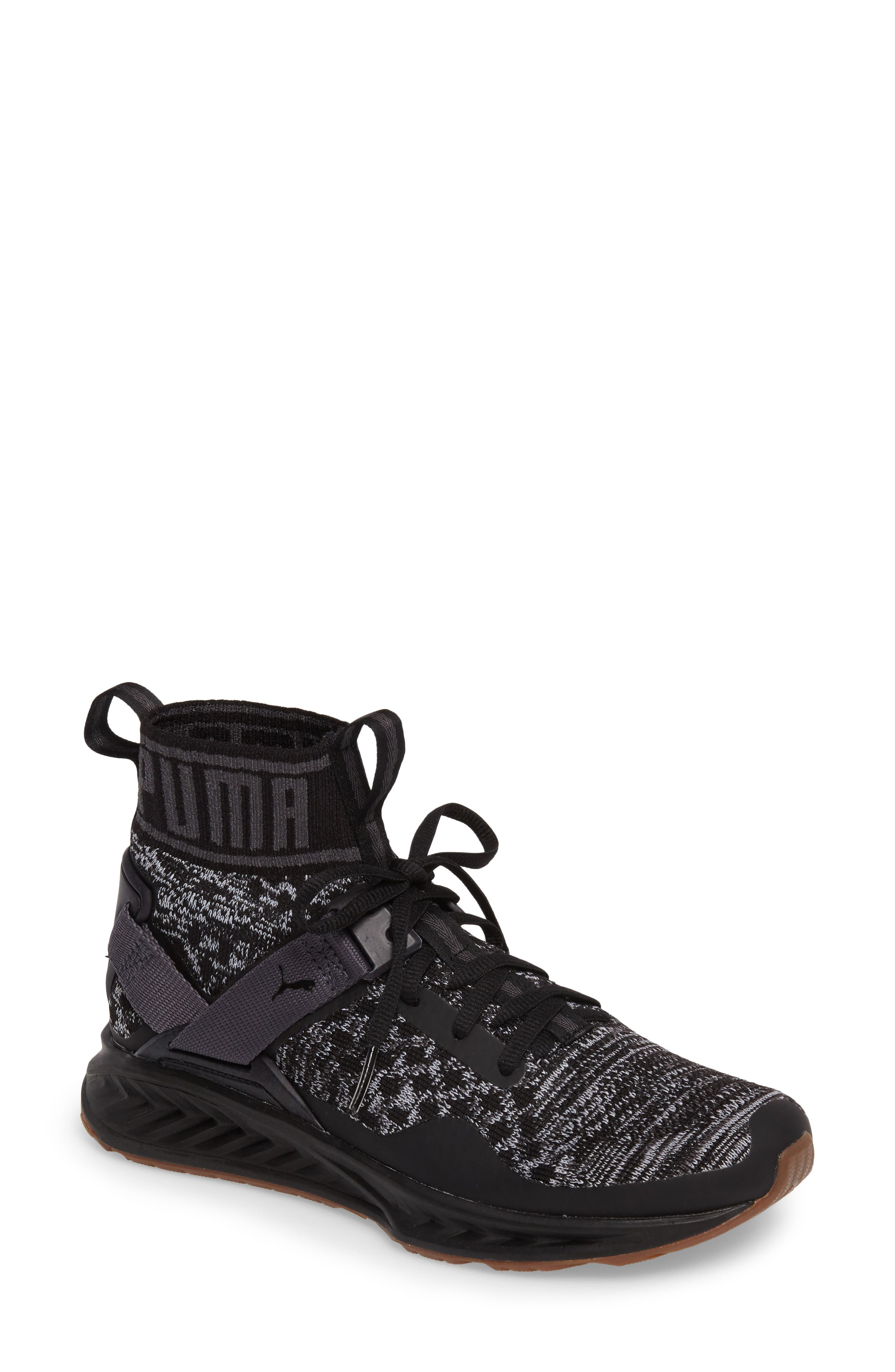 Alternate Image 1 Selected - PUMA IGNITE evoKNIT Running Shoe (Women)