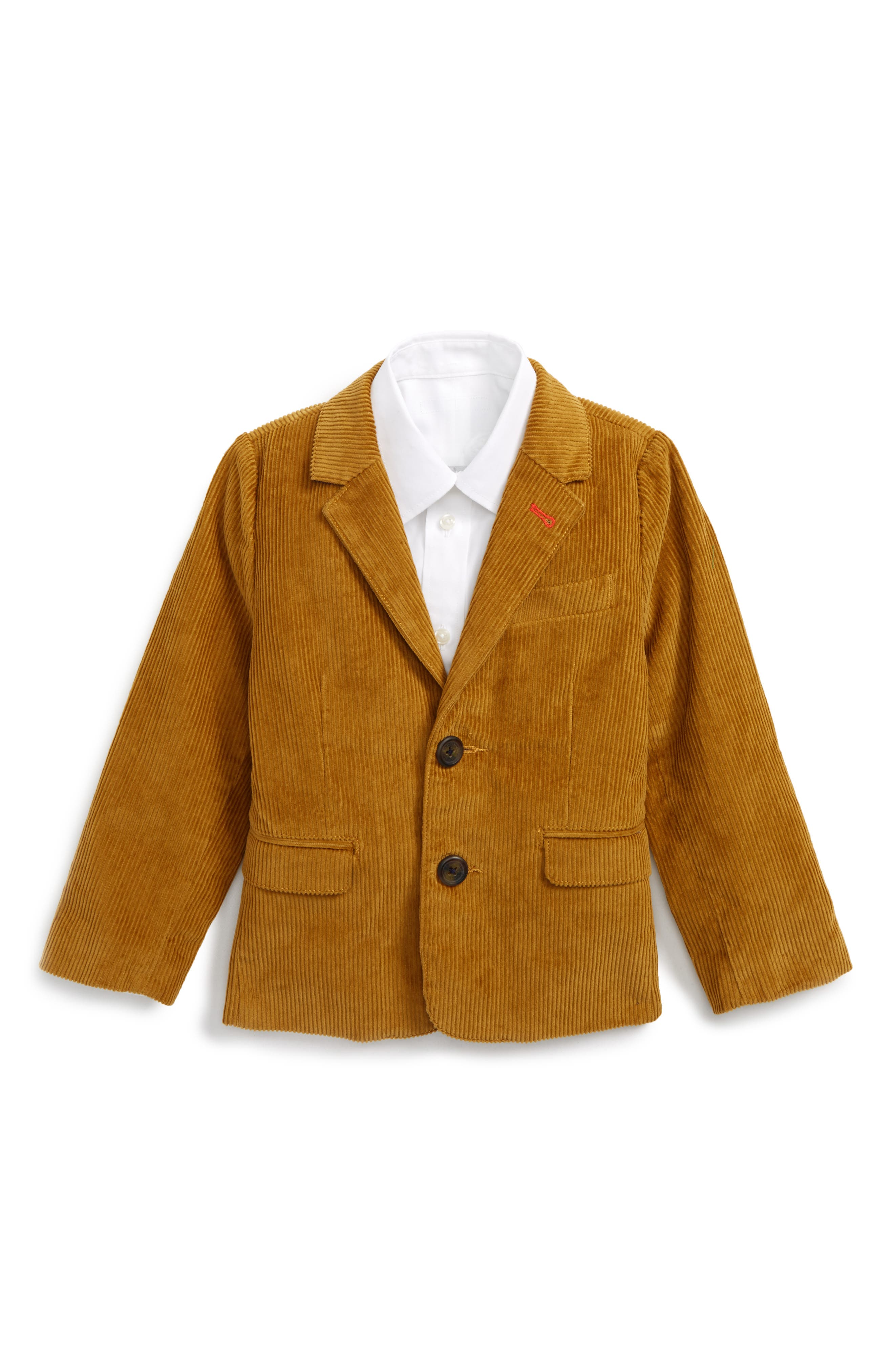 Mini Boden Corduroy Blazer (Toddler Boys, Little Boys & Big Boys)