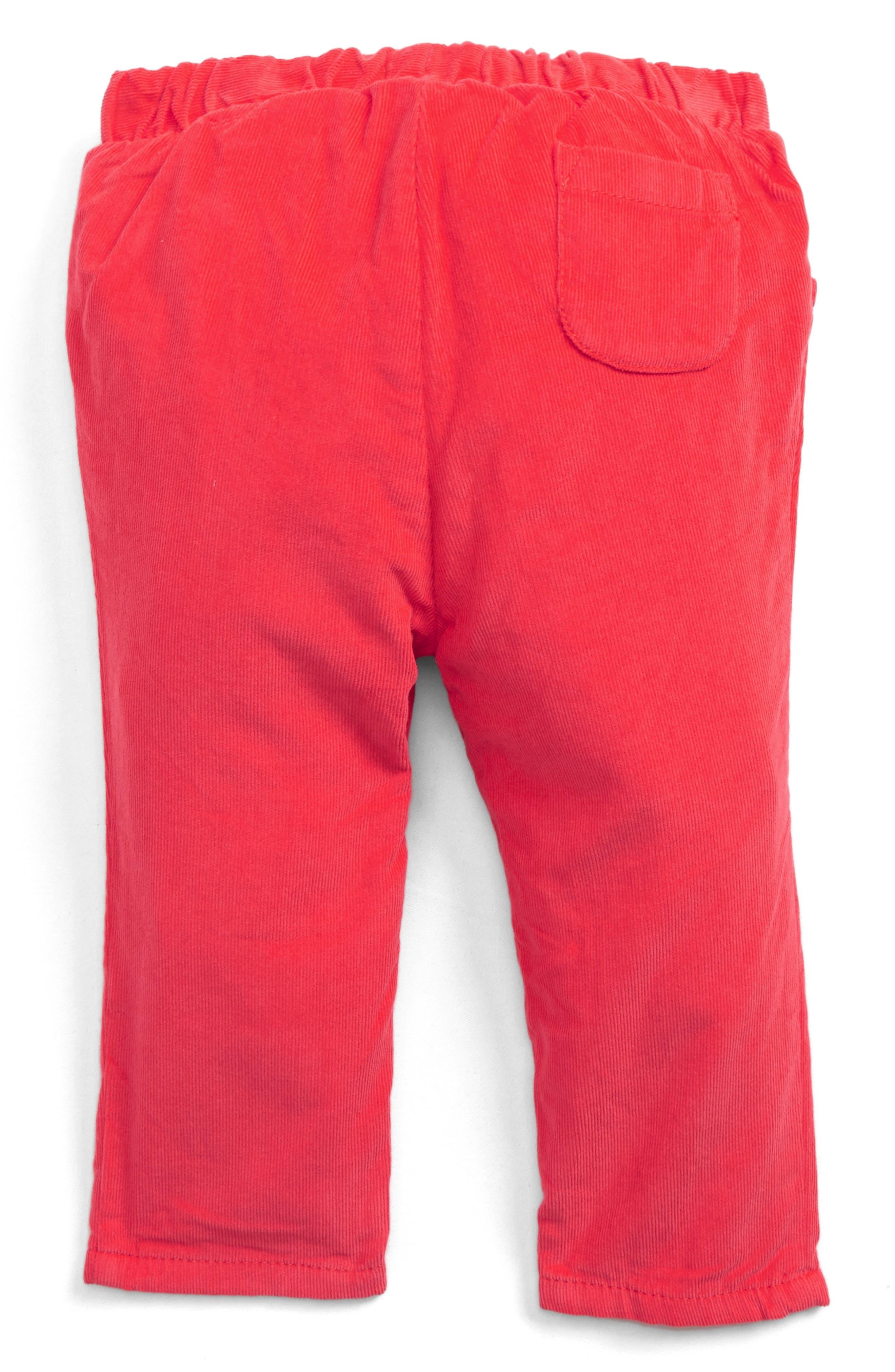 Alternate Image 2  - Mini Boden Corduroy Pants (Baby Girls & Toddler Girls)