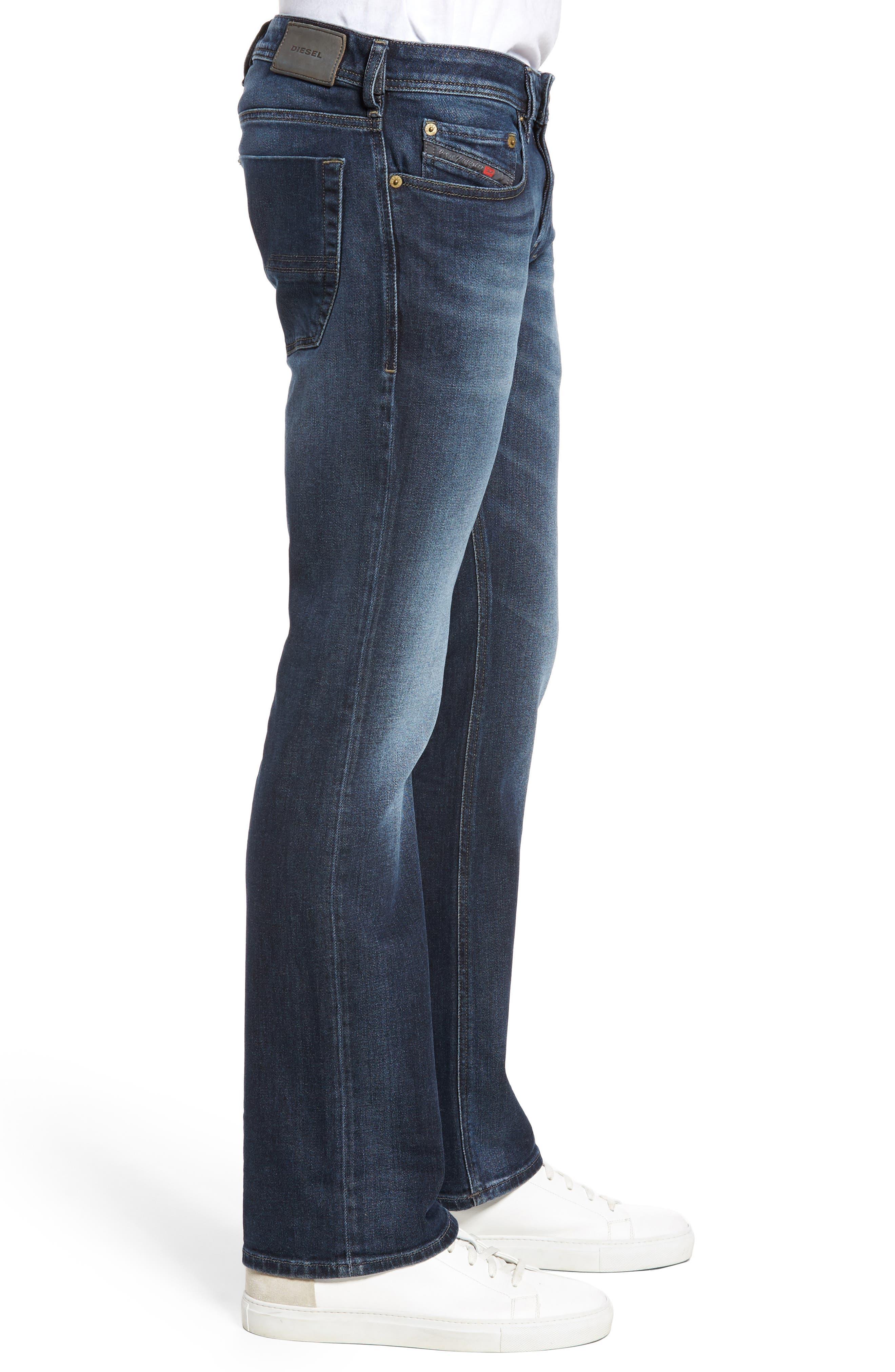 Zatiny Bootcut Jeans,                             Alternate thumbnail 3, color,                             Denim
