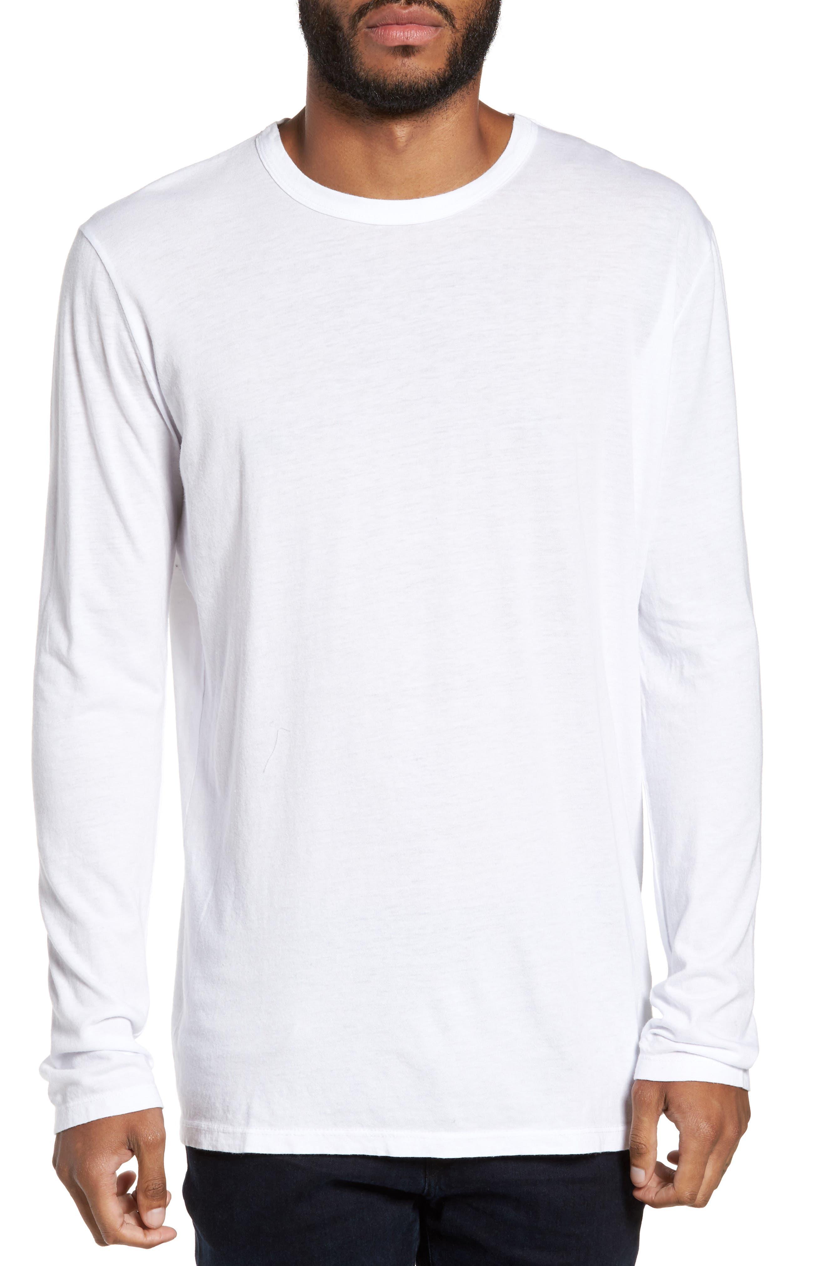 Baldwin Solid Long Sleeve T-Shirt