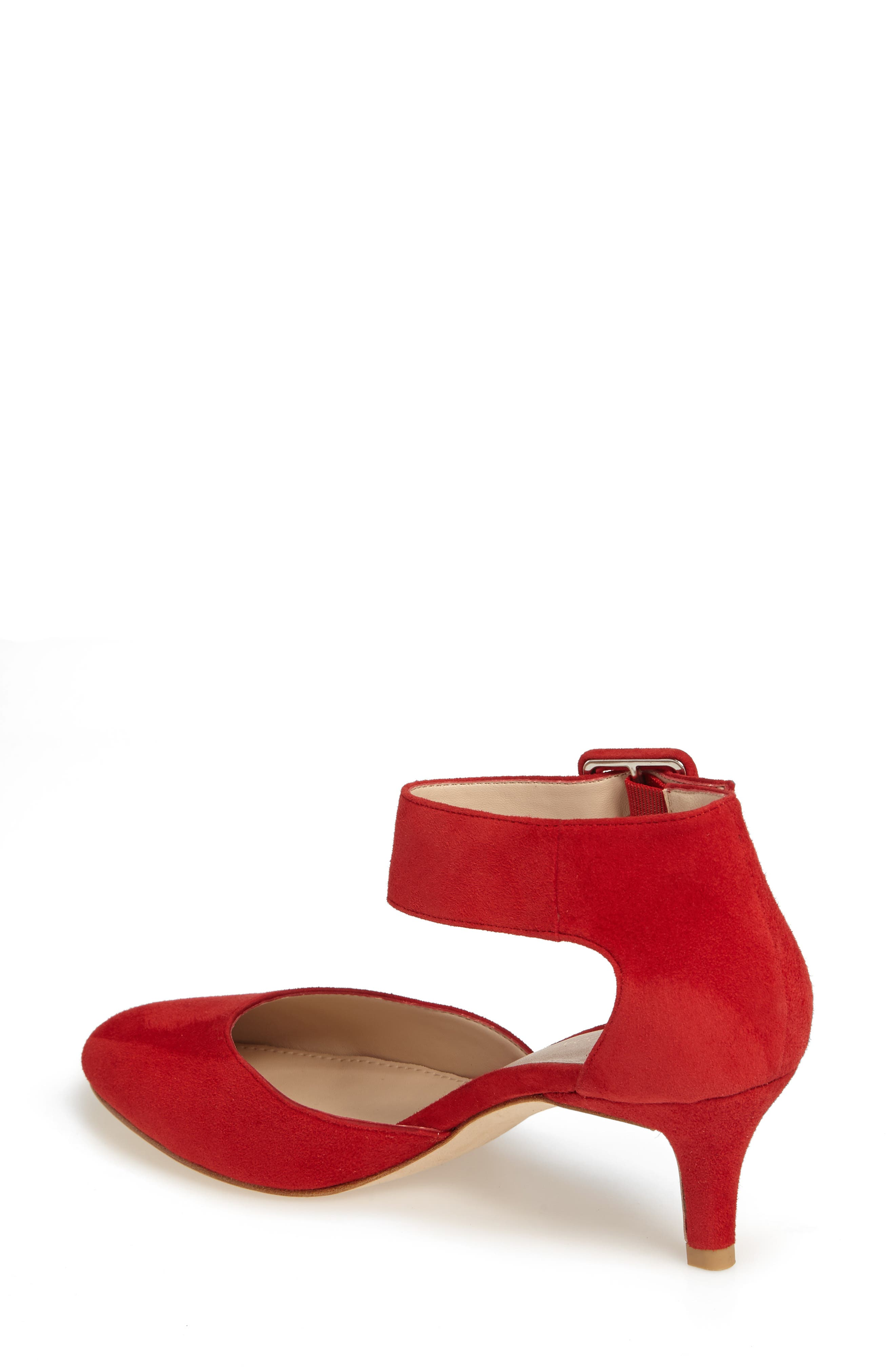 Alternate Image 2  - Pelle Moda Ankle Strap Pump (Women)