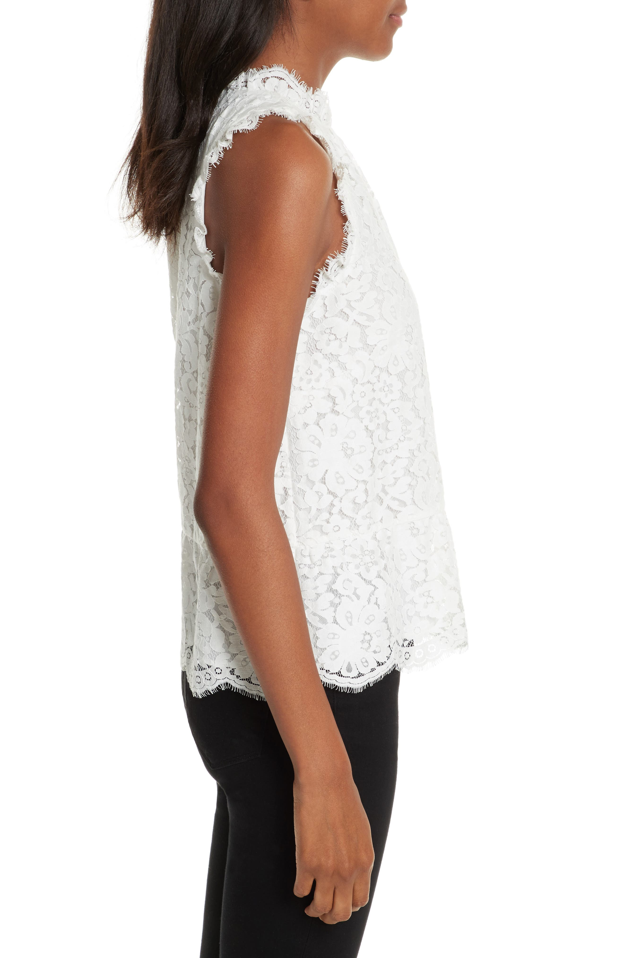 Alternate Image 3  - Joie Marineth Lace Top