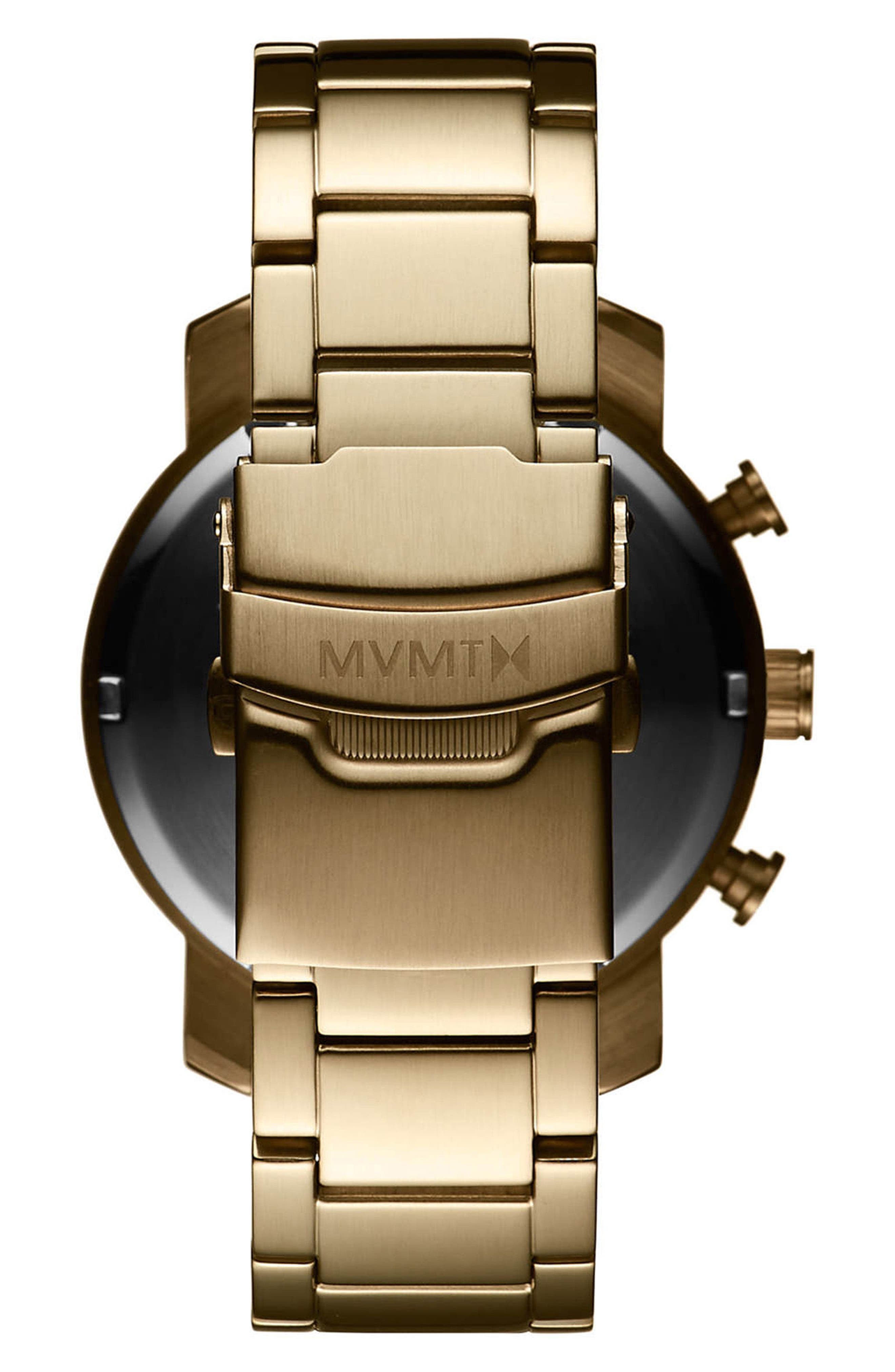 Alternate Image 2  - MVMT Chrono Chronograph Bracelet Watch, 40mm