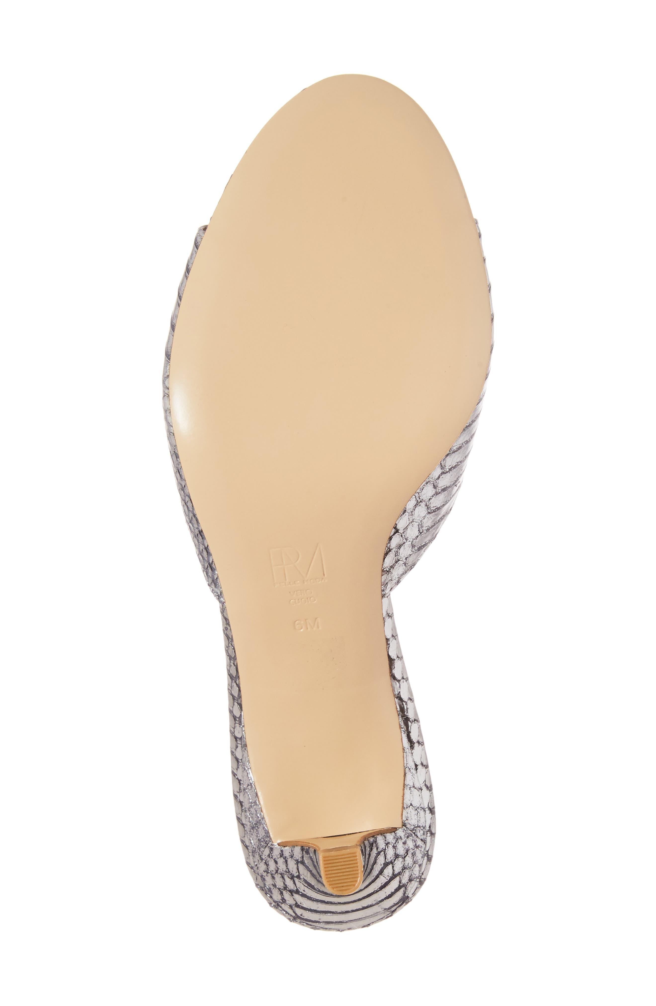 Alternate Image 6  - Pelle Moda Bex Kitten Heel Slide (Women)