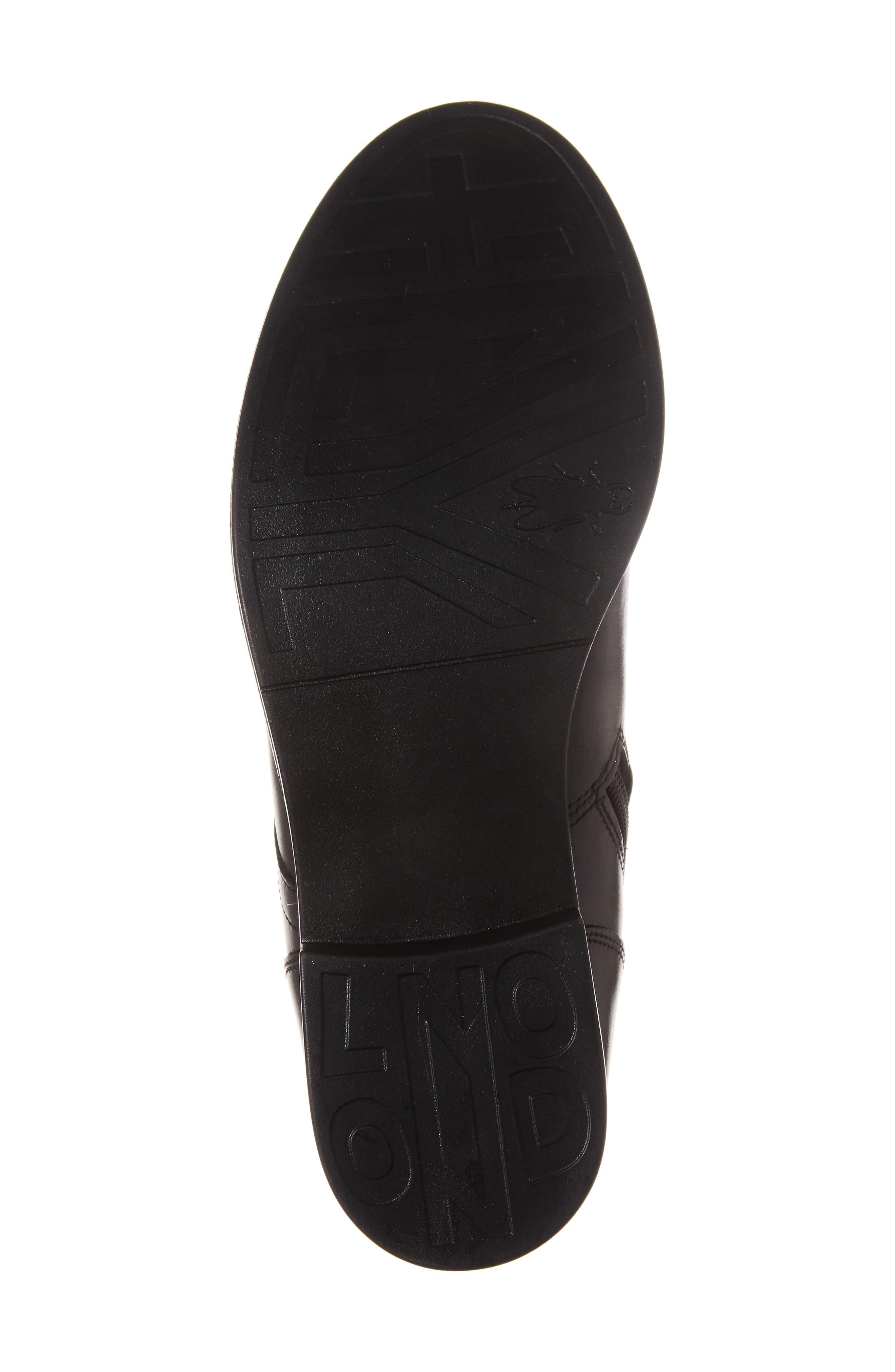 Arty Boot,                             Alternate thumbnail 6, color,                             Black/ Ocean Leather