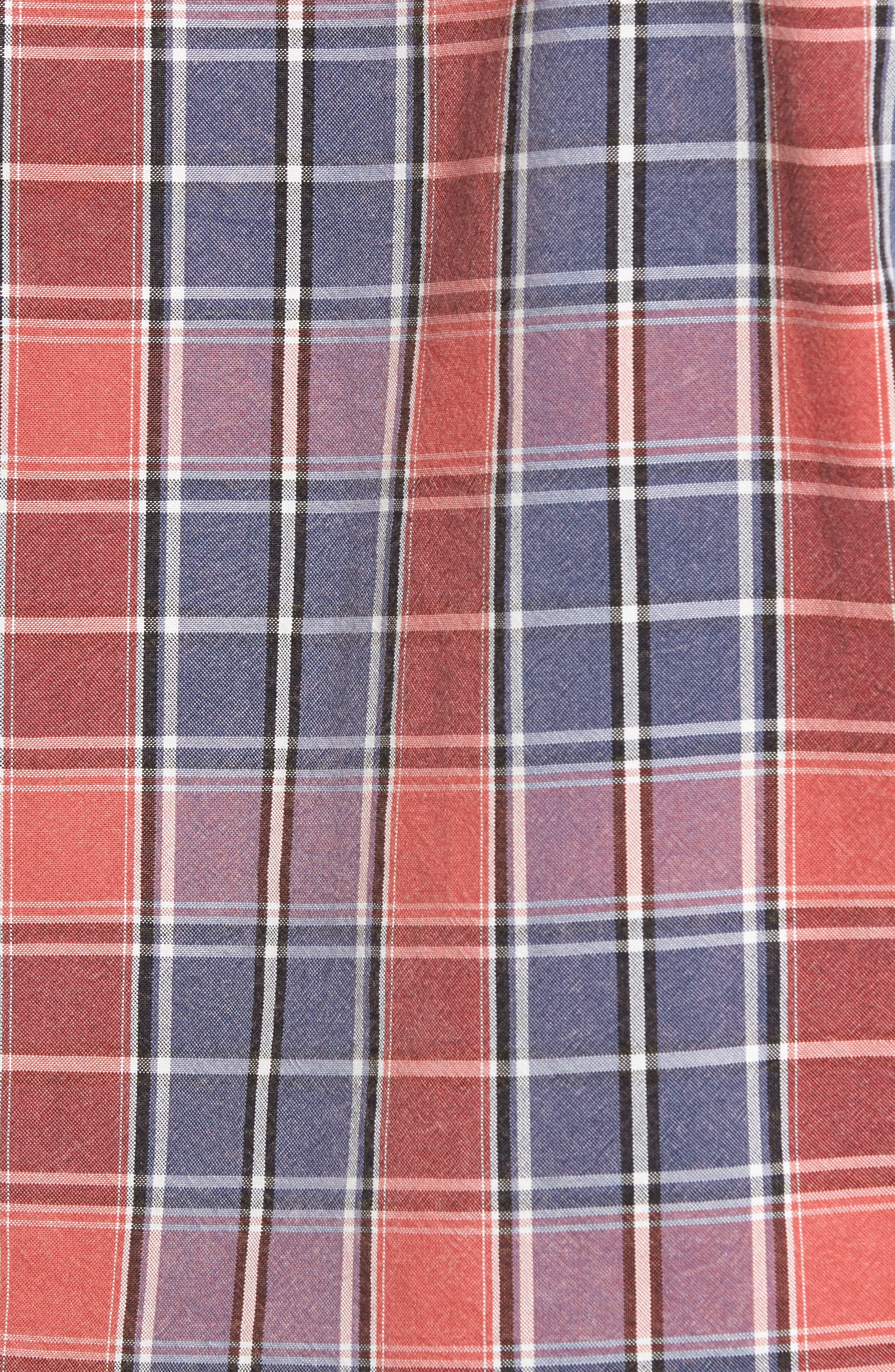 Alternate Image 5  - Vintage 1946 Regular Fit Oxford Sport Shirt