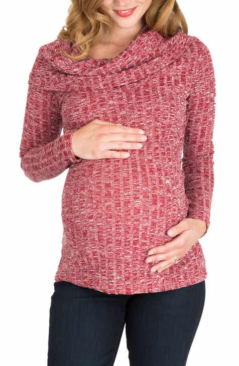 Nom Maternity Ophelia Cowl Neck Maternity Sweater