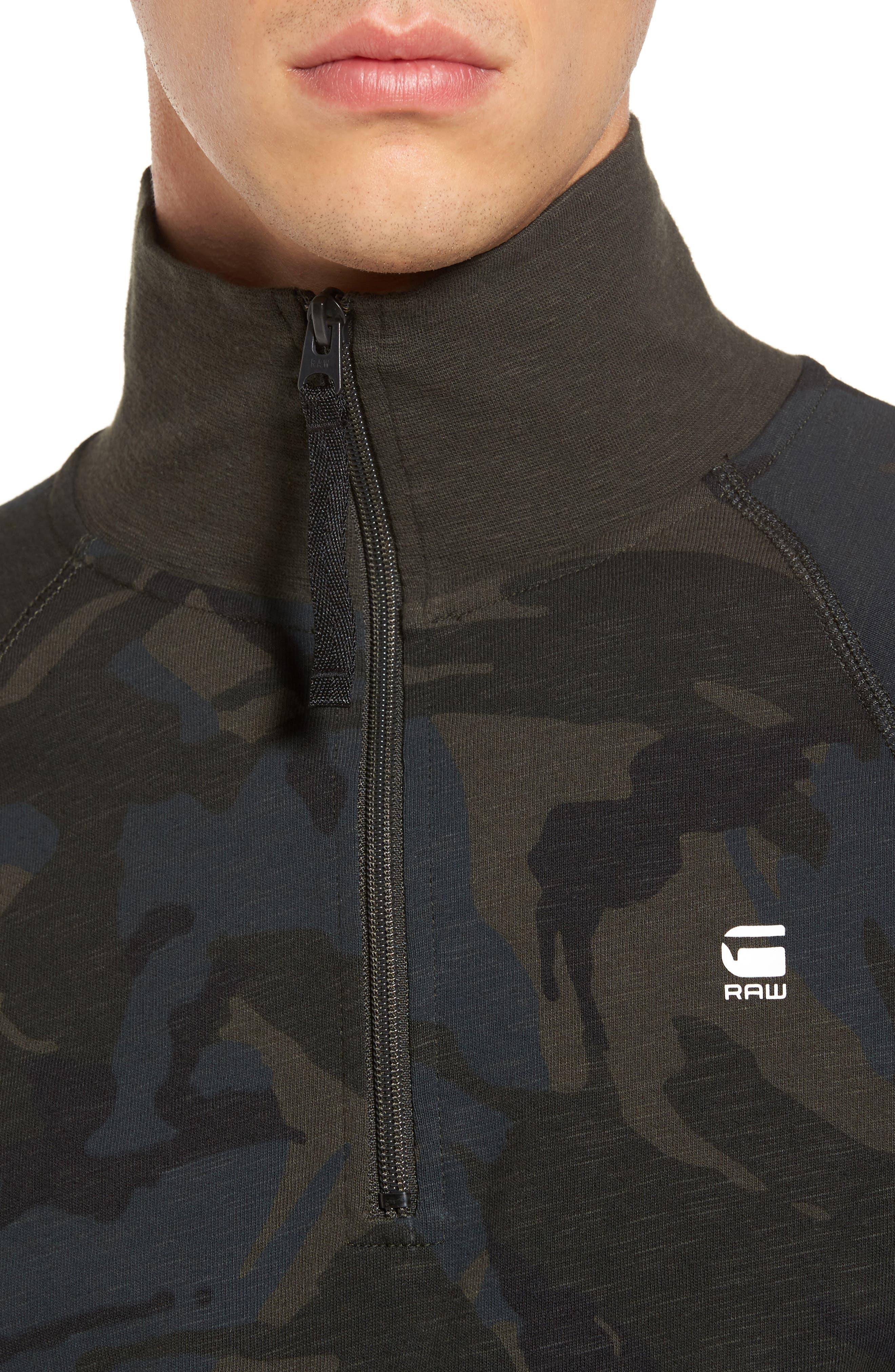Jirgi Quarter Zip Jacket,                             Alternate thumbnail 4, color,                             Green
