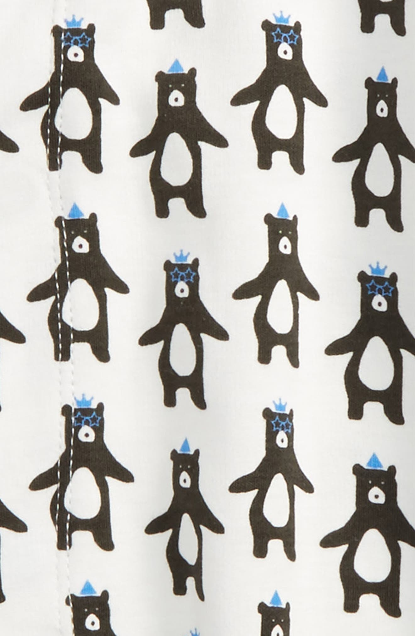 Alternate Image 2  - Magnetic Me Print Gown (Baby Boys)