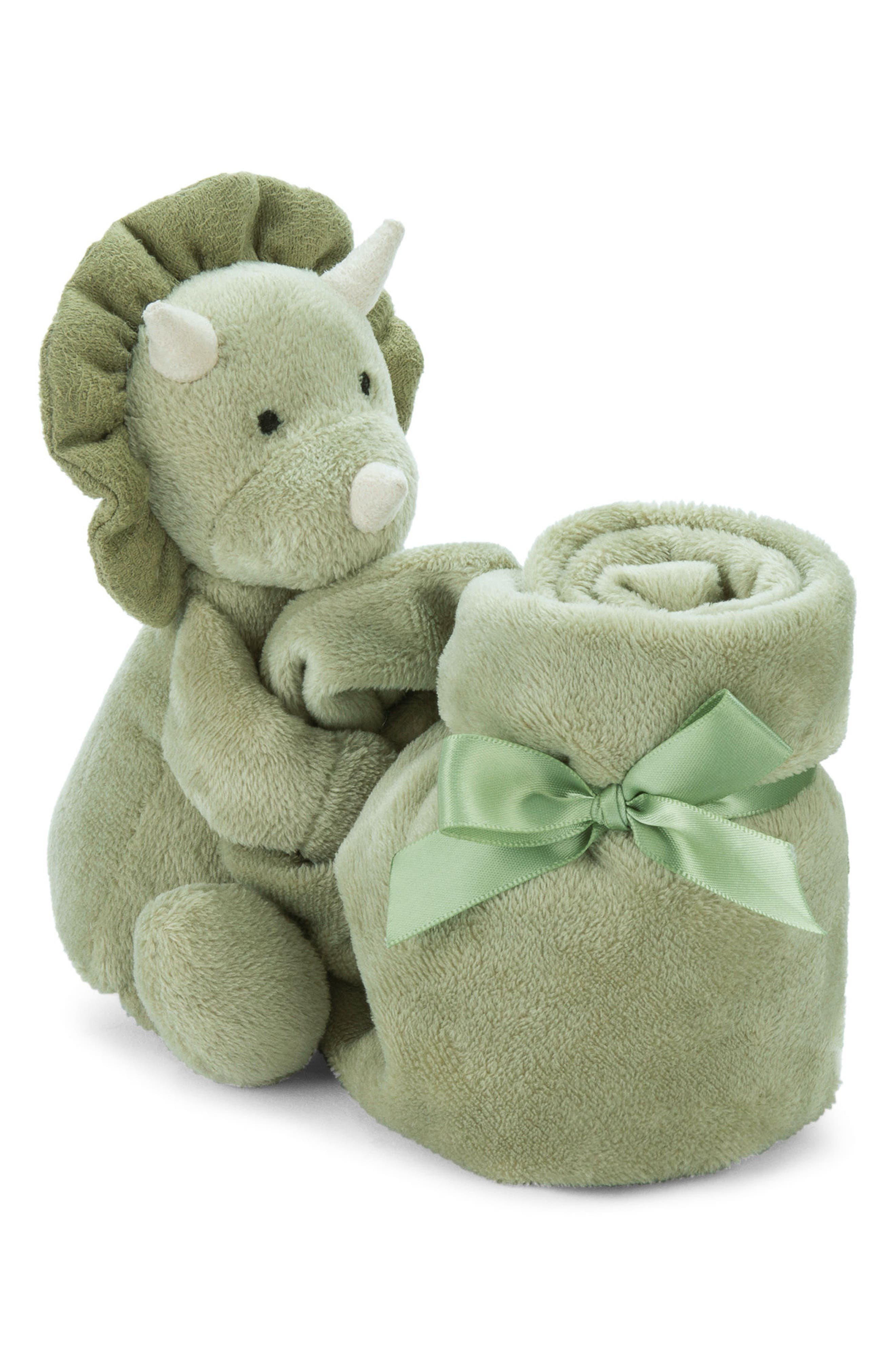 Jellycat Duffie Dino Soother Blanket