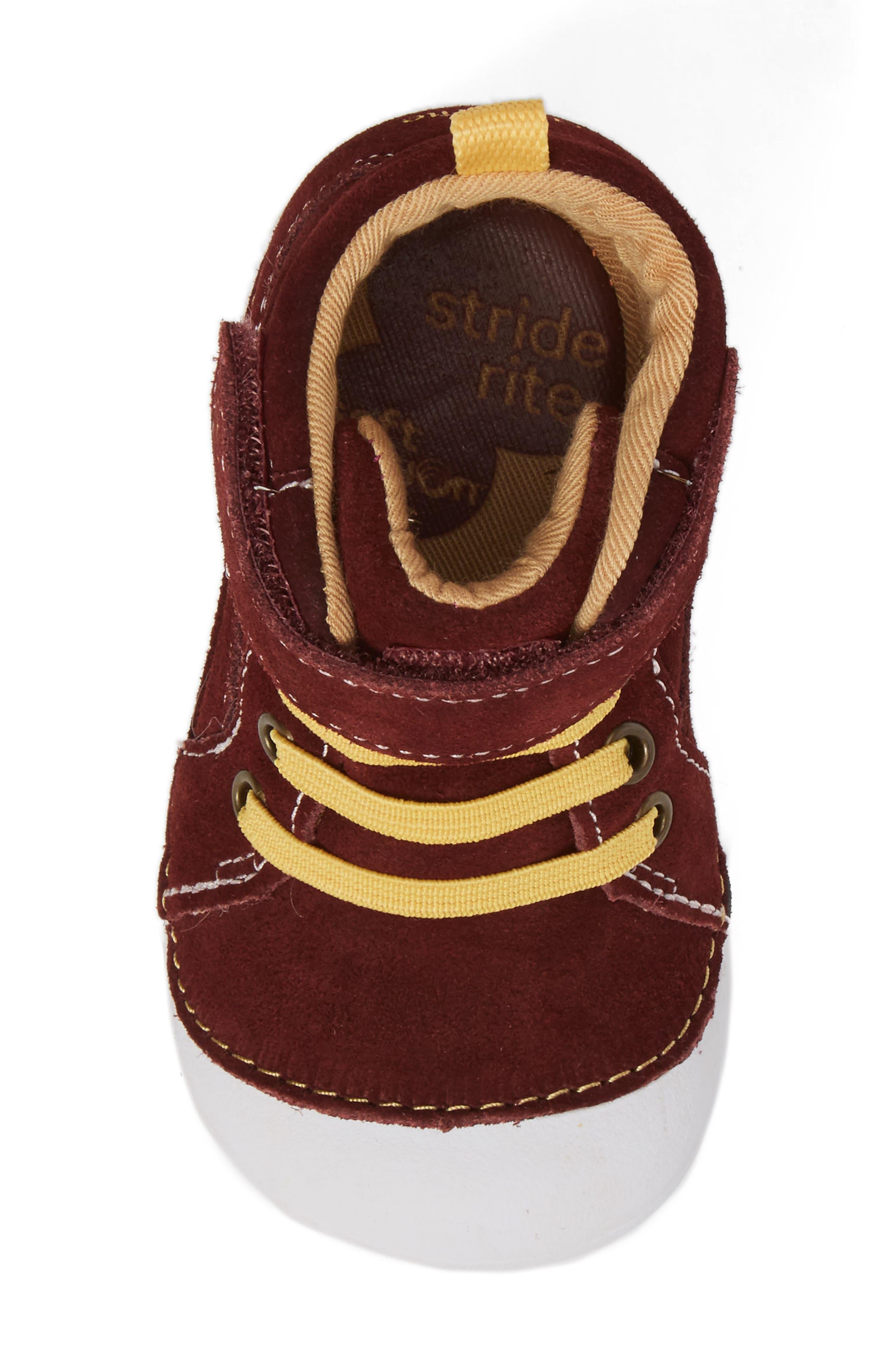 Alternate Image 5  - Stride Rite Soft Motion Danny Sneaker (Baby & Walker)