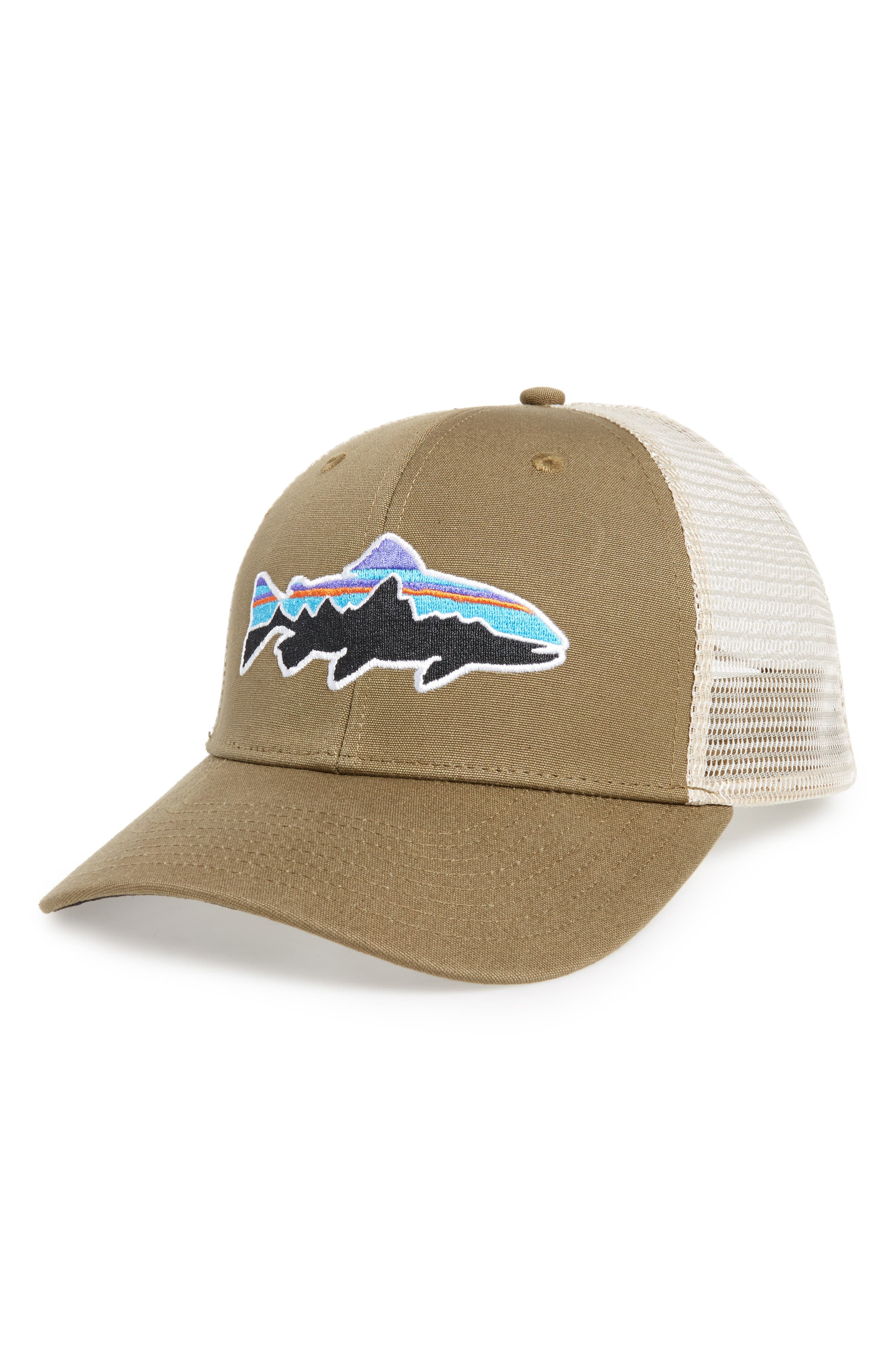 Main Image - Patagonia 'Fitz Roy - Trout' Trucker Hat