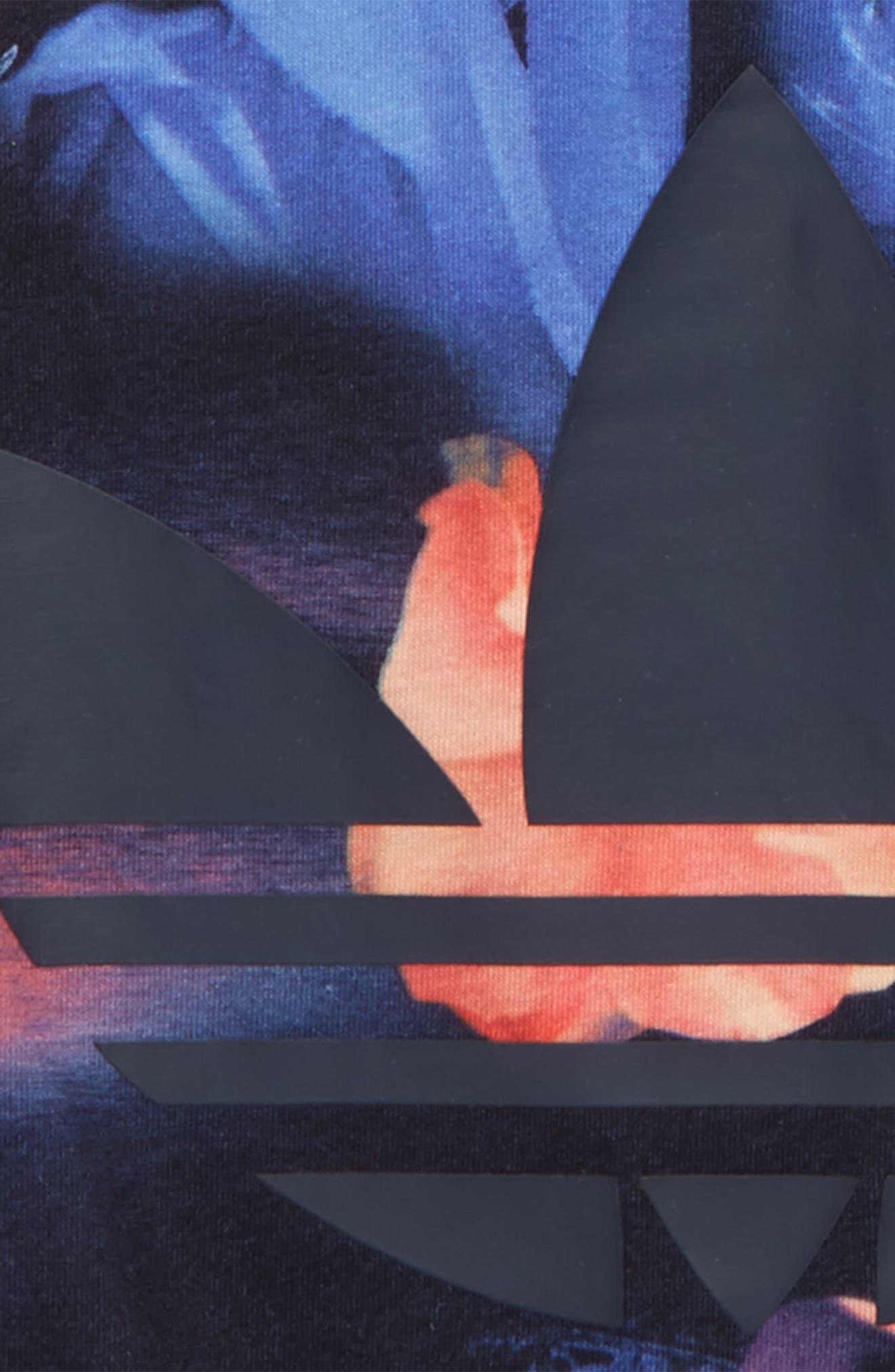 Alternate Image 2  - adidas Originals Rose Print Tank (Big Girls)