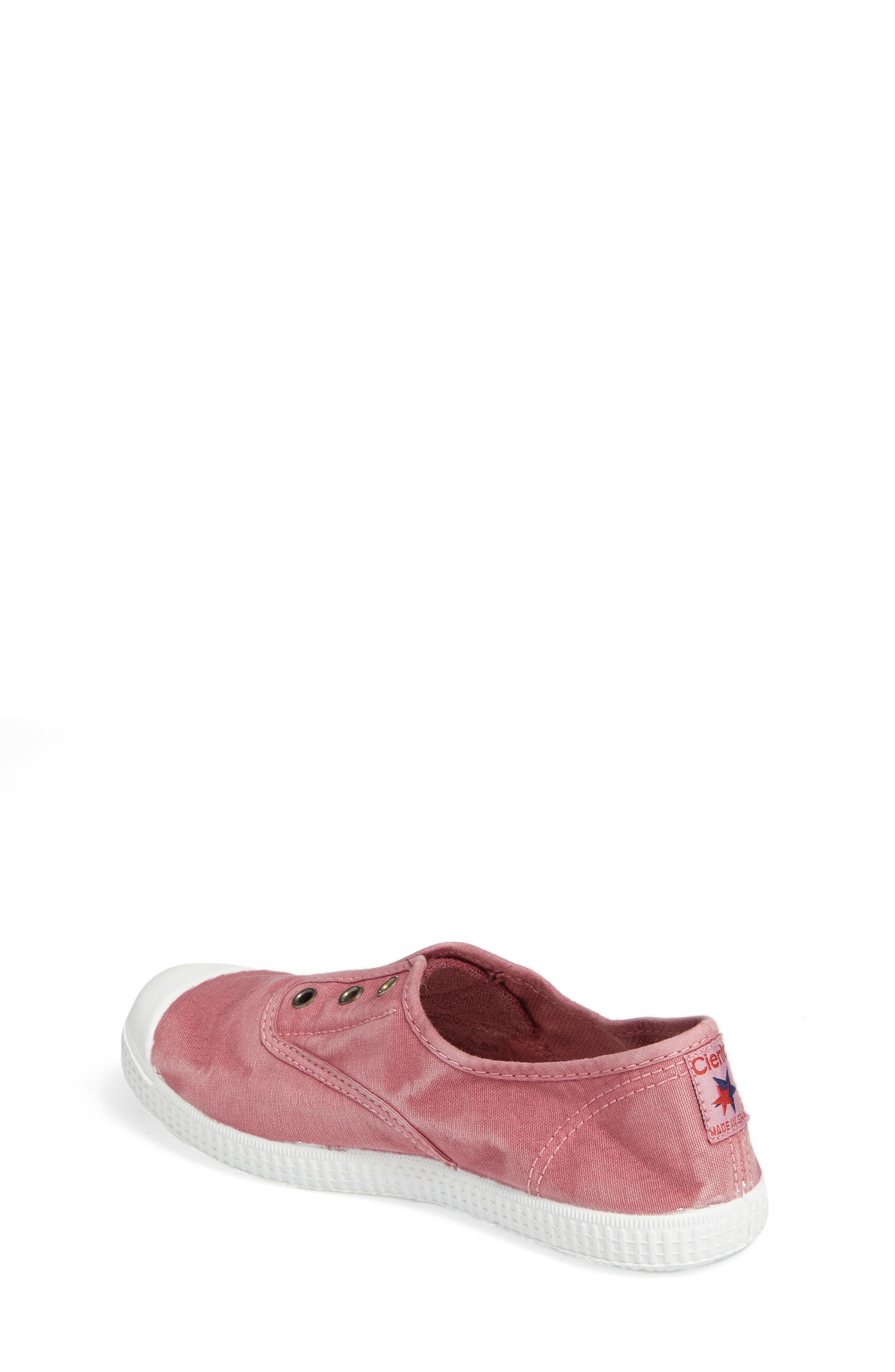 Laceless Slip-On Sneaker,                             Alternate thumbnail 2, color,                             Pink