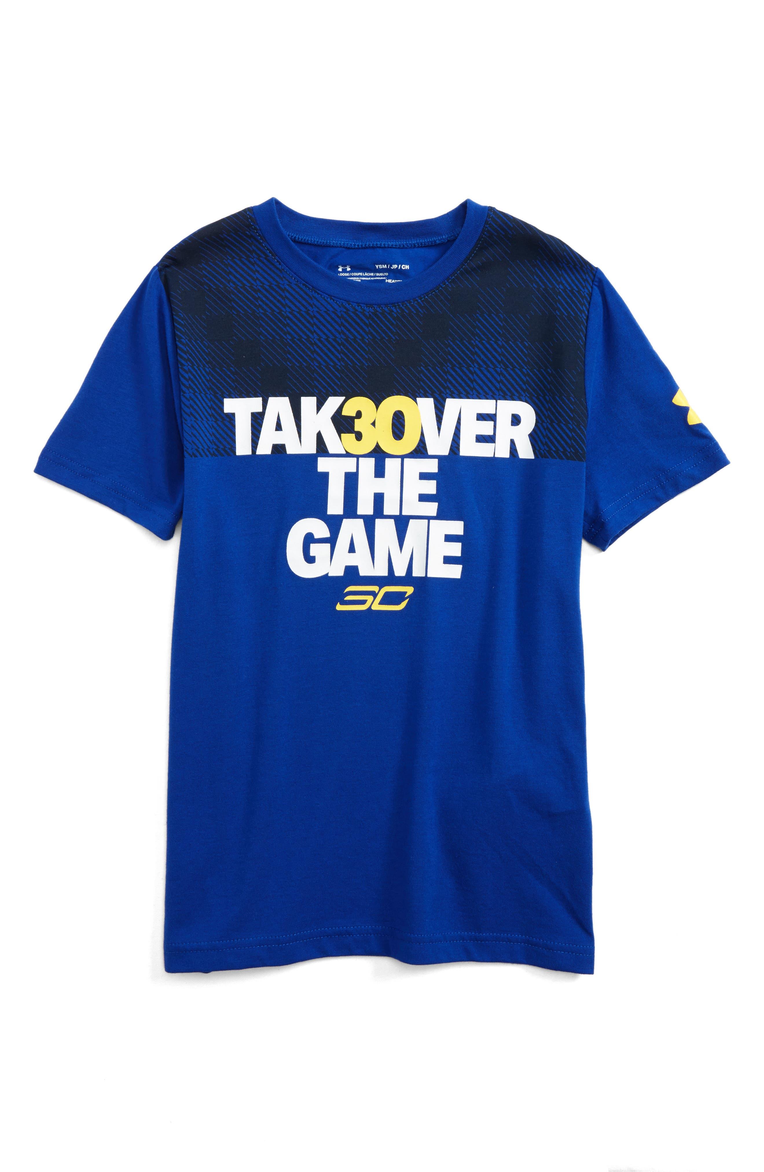 Under Armour SC30 Takeover Graphic HeatGear® T-Shirt (Little Boys & Big Boys)