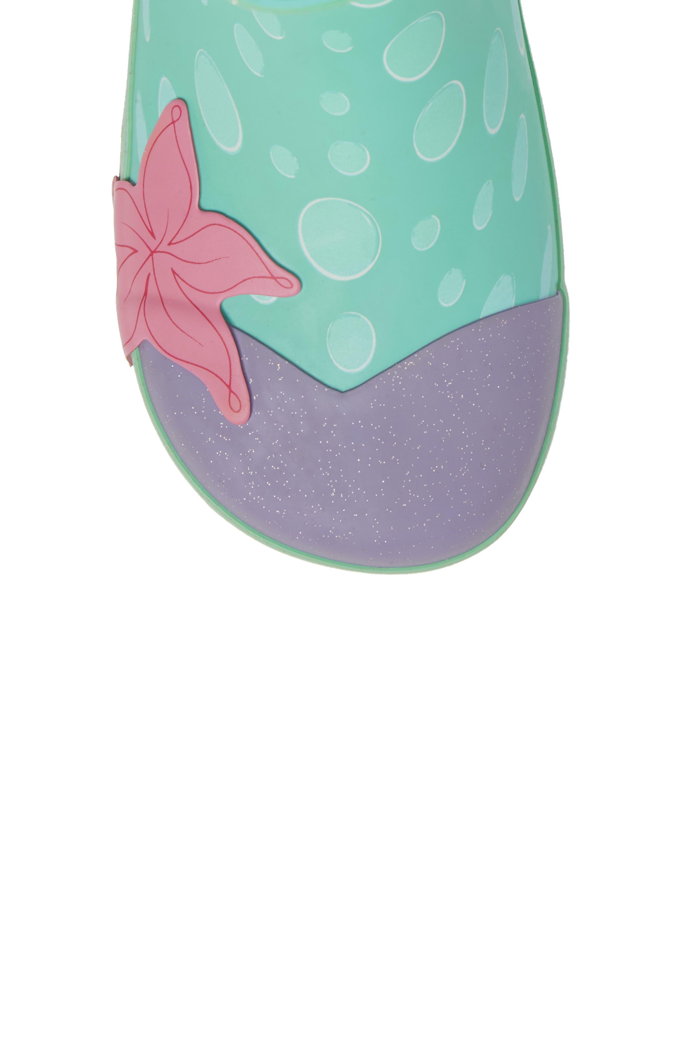 Ariel Rain Boot,                             Alternate thumbnail 5, color,                             Aqua