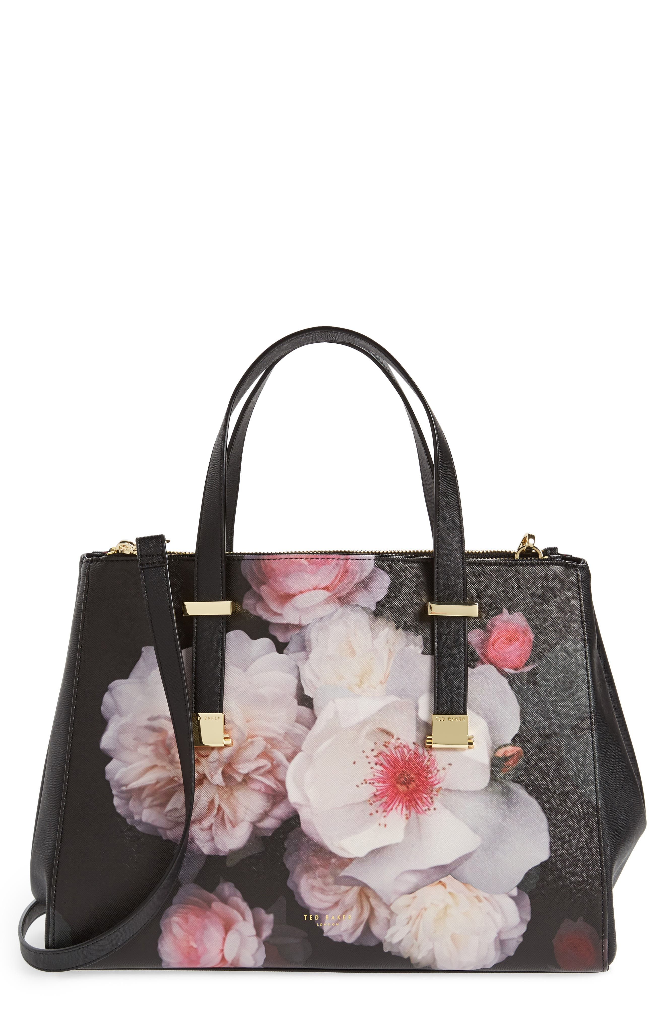 Main Image - Ted Baker London Large Abeliaa Chelsea Lady Adjustable Handle Shopper