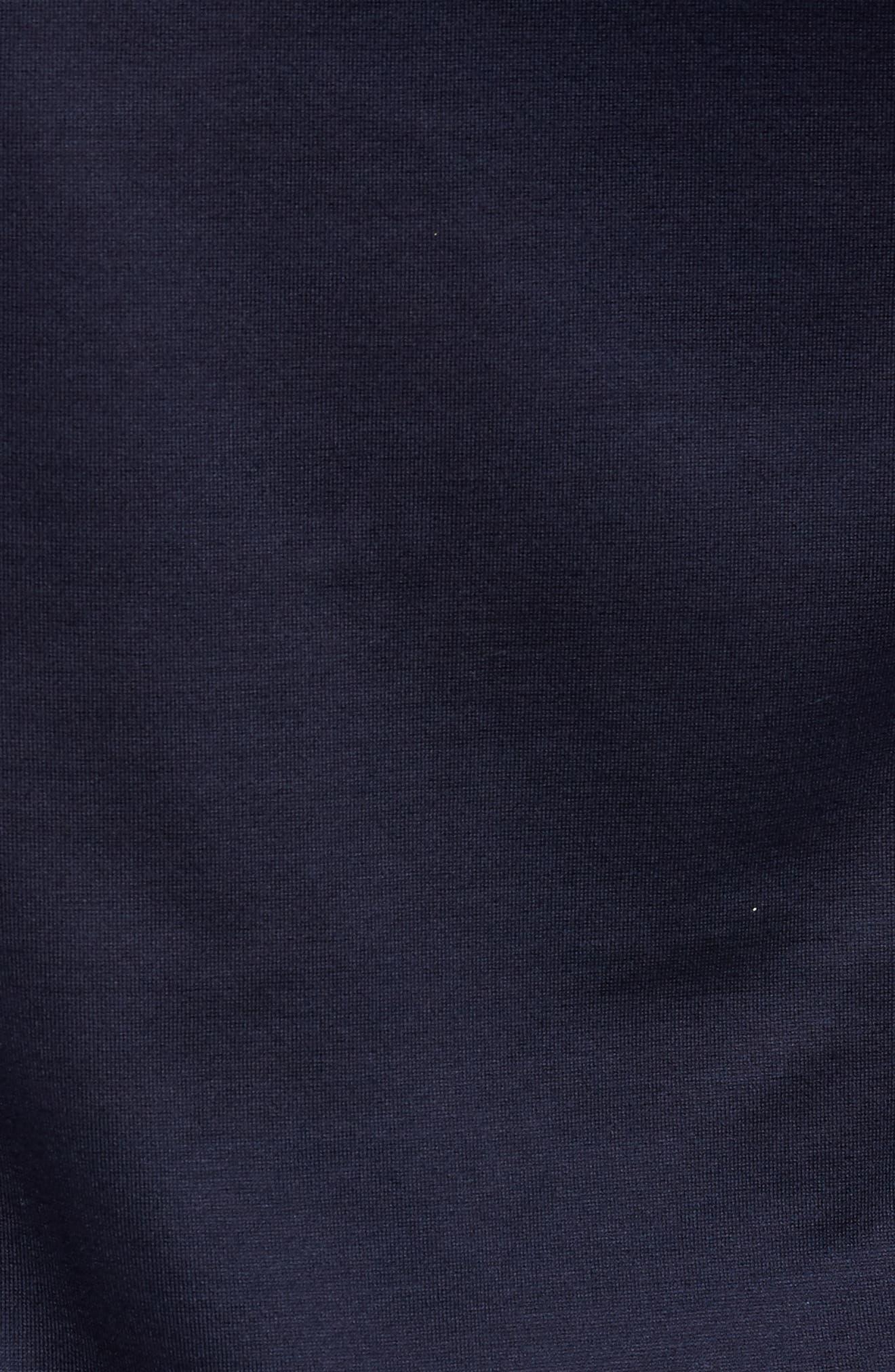 Jersey Sport Shirt,                             Alternate thumbnail 5, color,                             Blue Navy