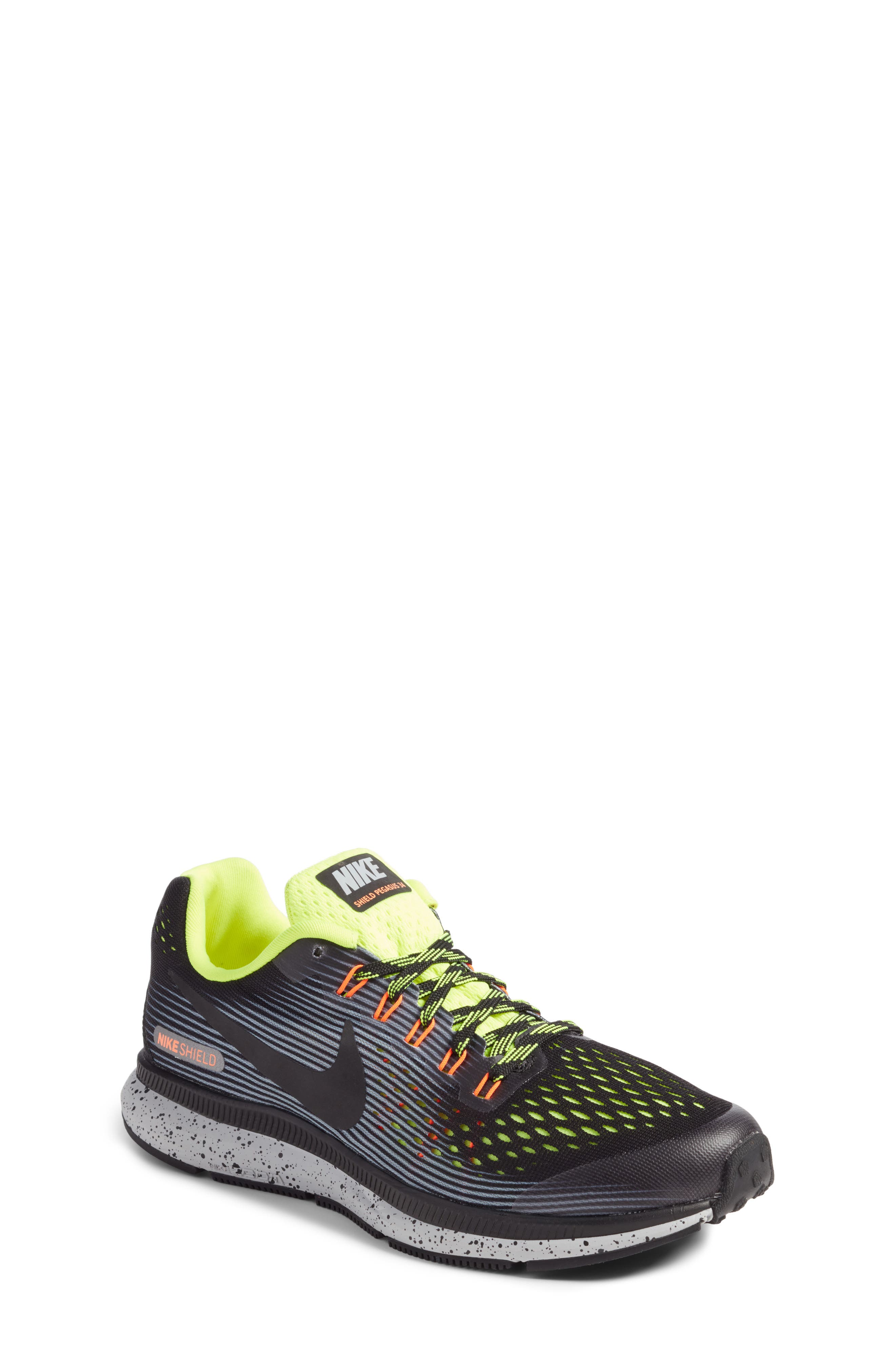 Nike Zoom Pegasus 34 Shield GS Sneaker (Little Kid & Big Kid)