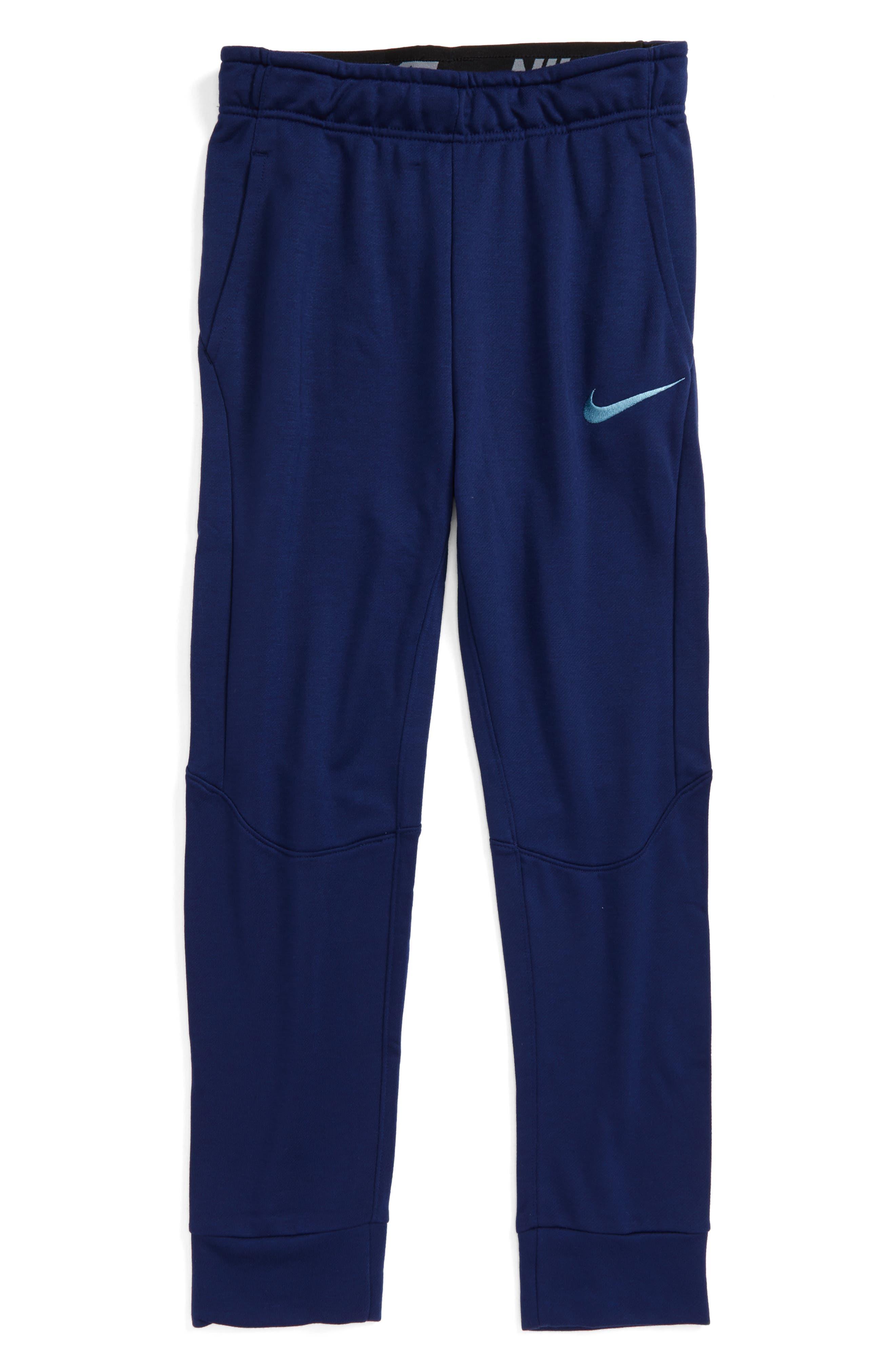 Alternate Image 1 Selected - Nike Dry Fleece Training Pants (Little Boys & Big Boys)