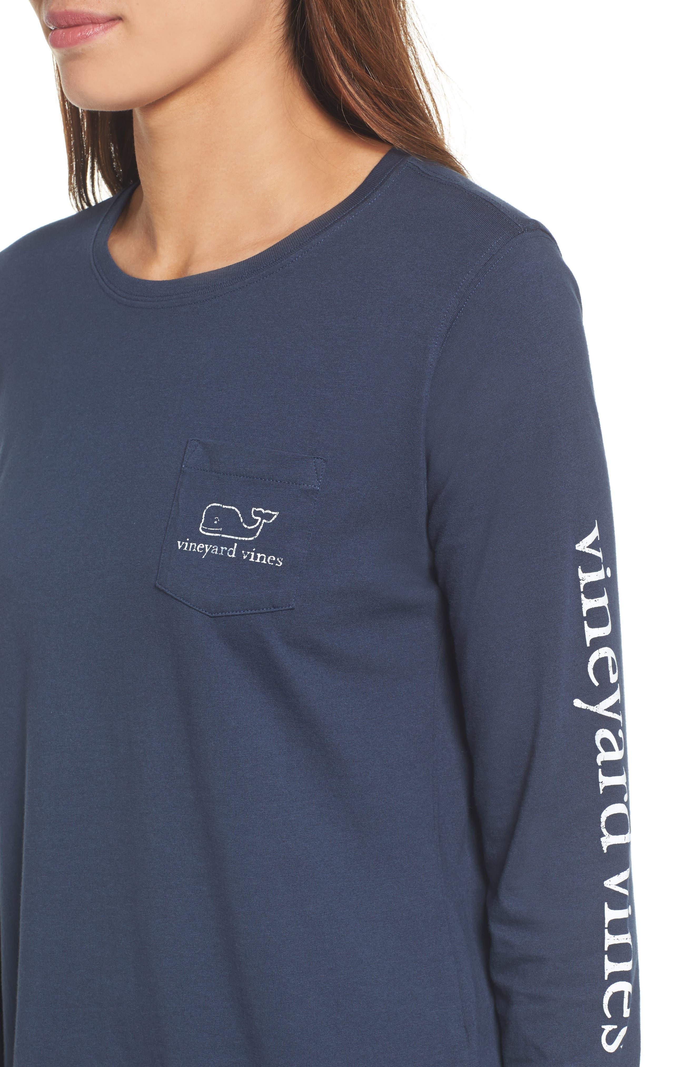 Alternate Image 4  - vineyard vines Whale Print Long Sleeve Tee