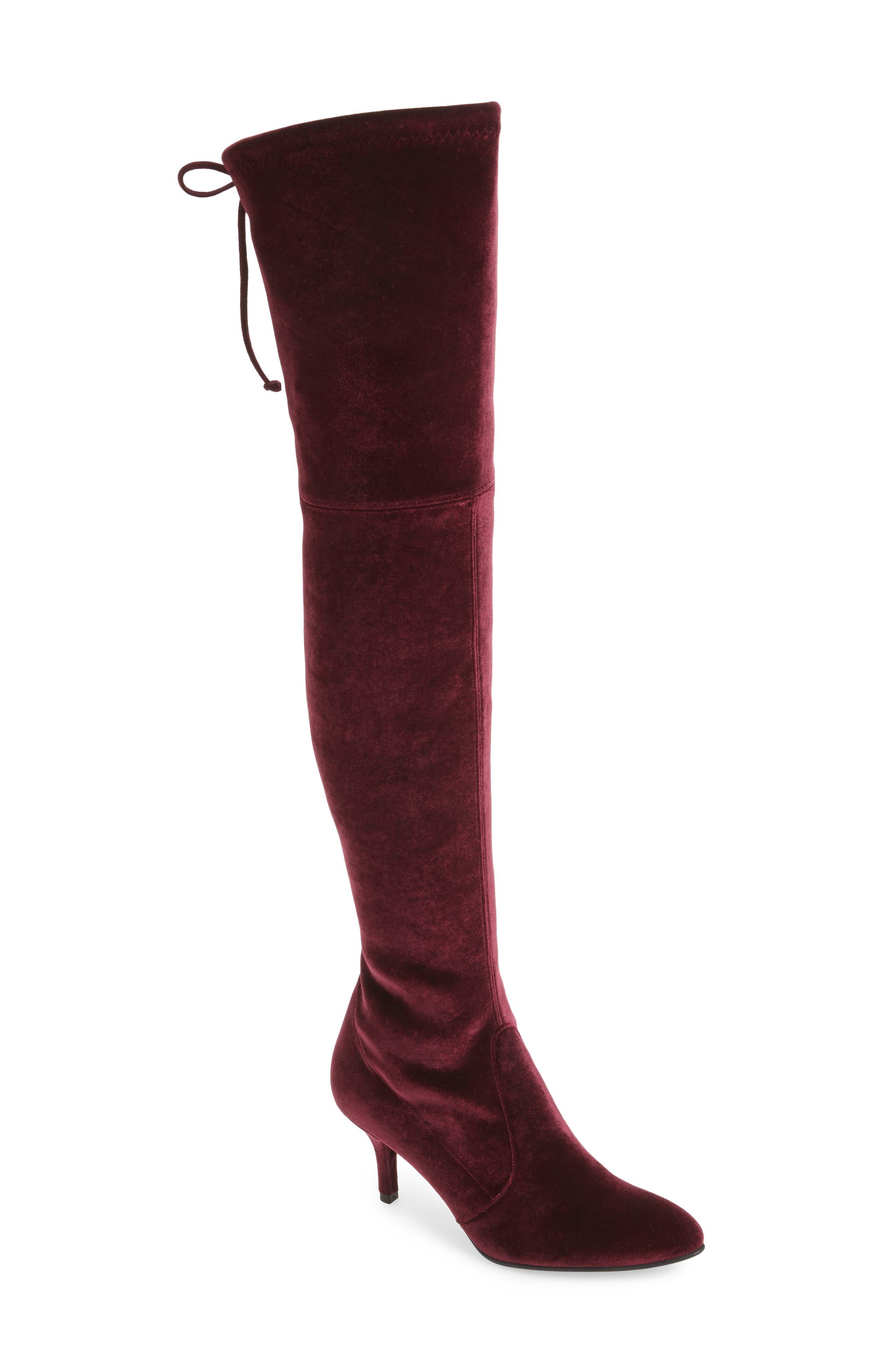 Stuart Weitzman Tiemodel Over the Knee Stretch Boot (Women)