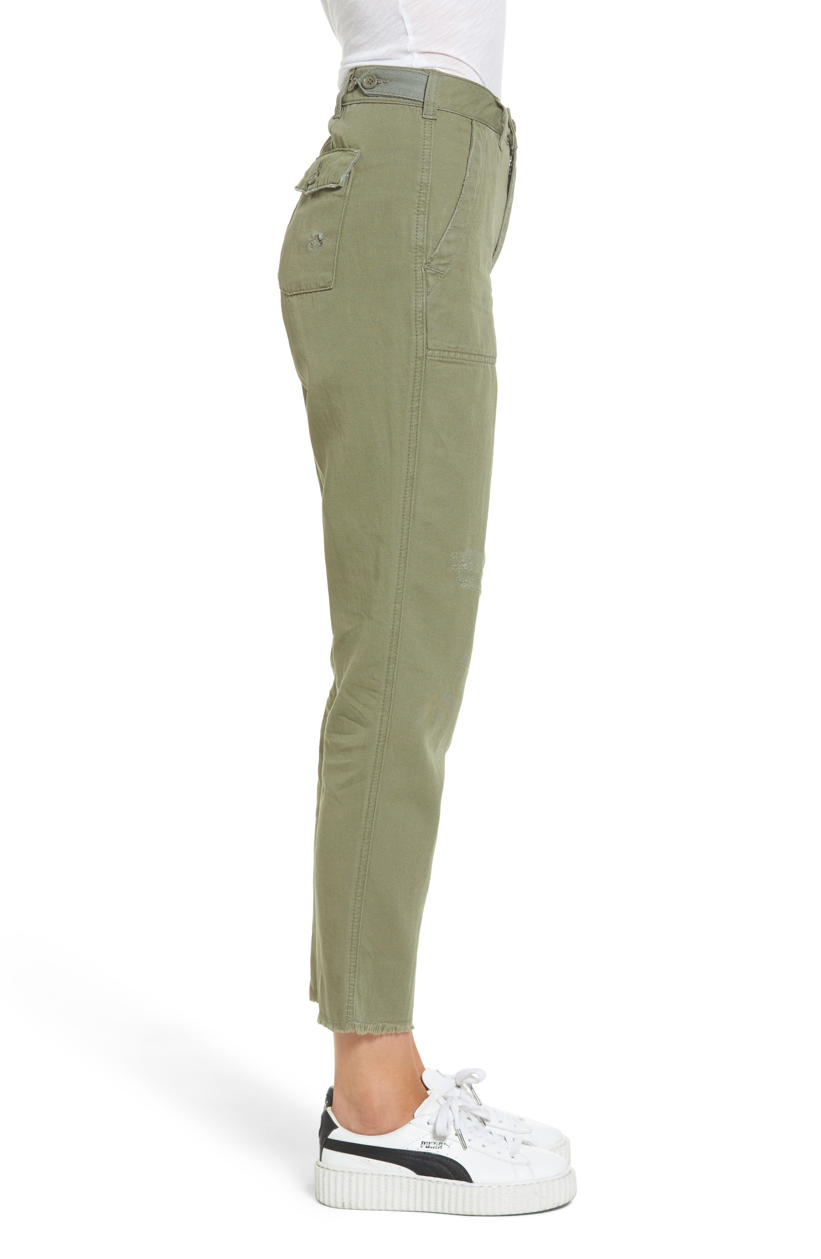 Alternate Image 3  - Topshop Luca Ulility Trousers