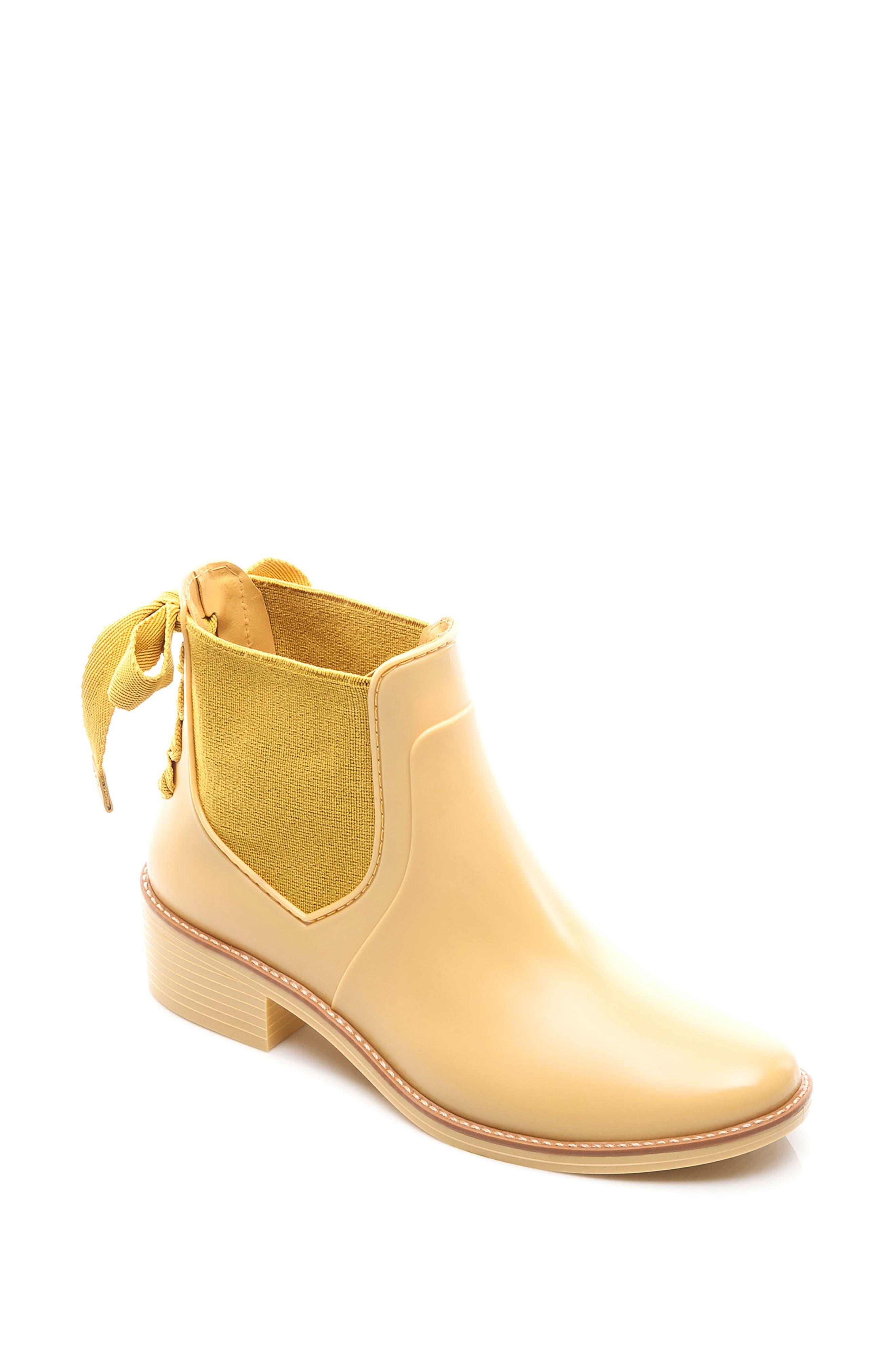 Paige Rain Boot,                             Main thumbnail 1, color,                             Yellow