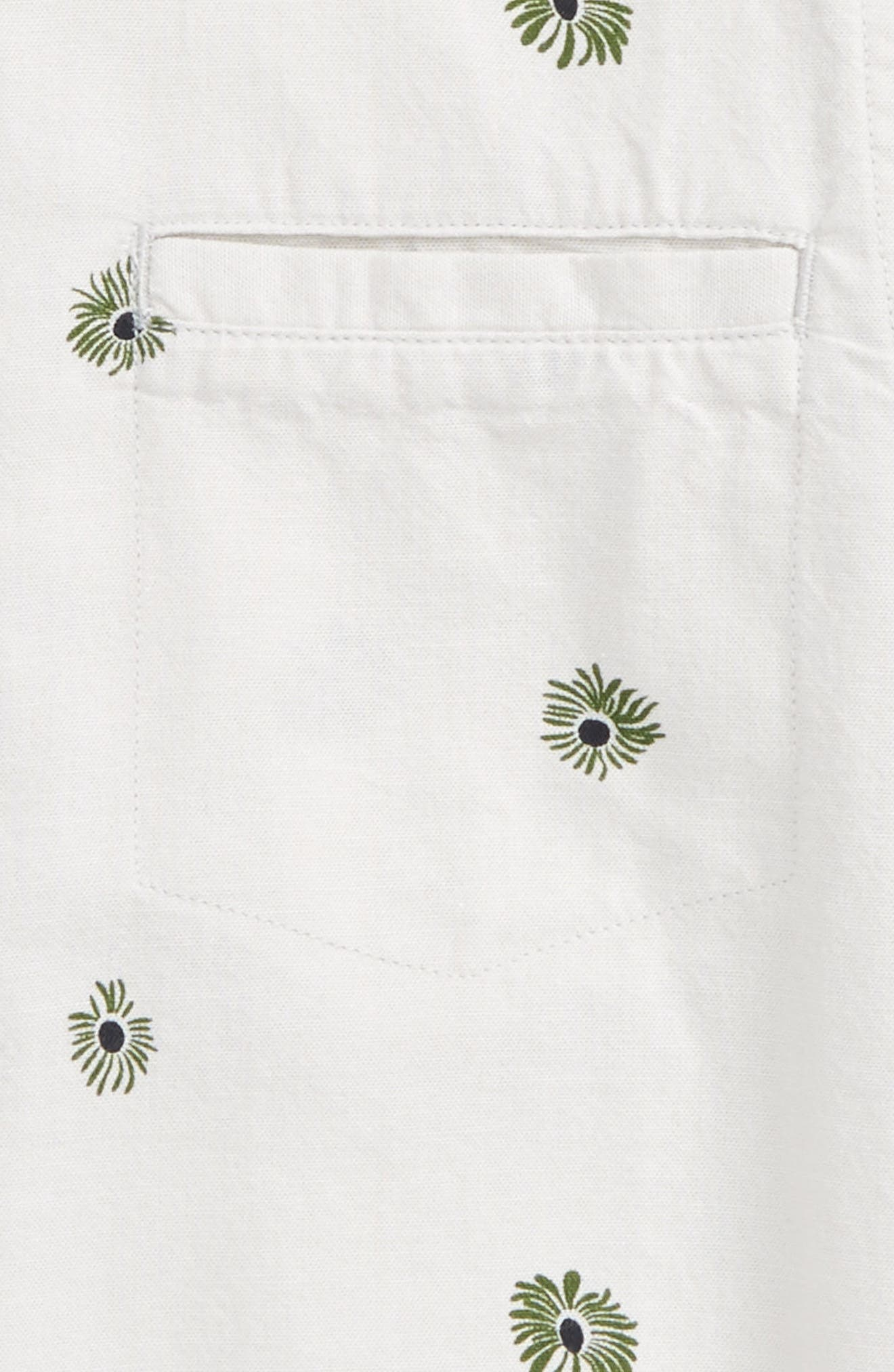 Alternate Image 2  - O'Neill Brees Floral Print Woven Shirt (Big Boys)