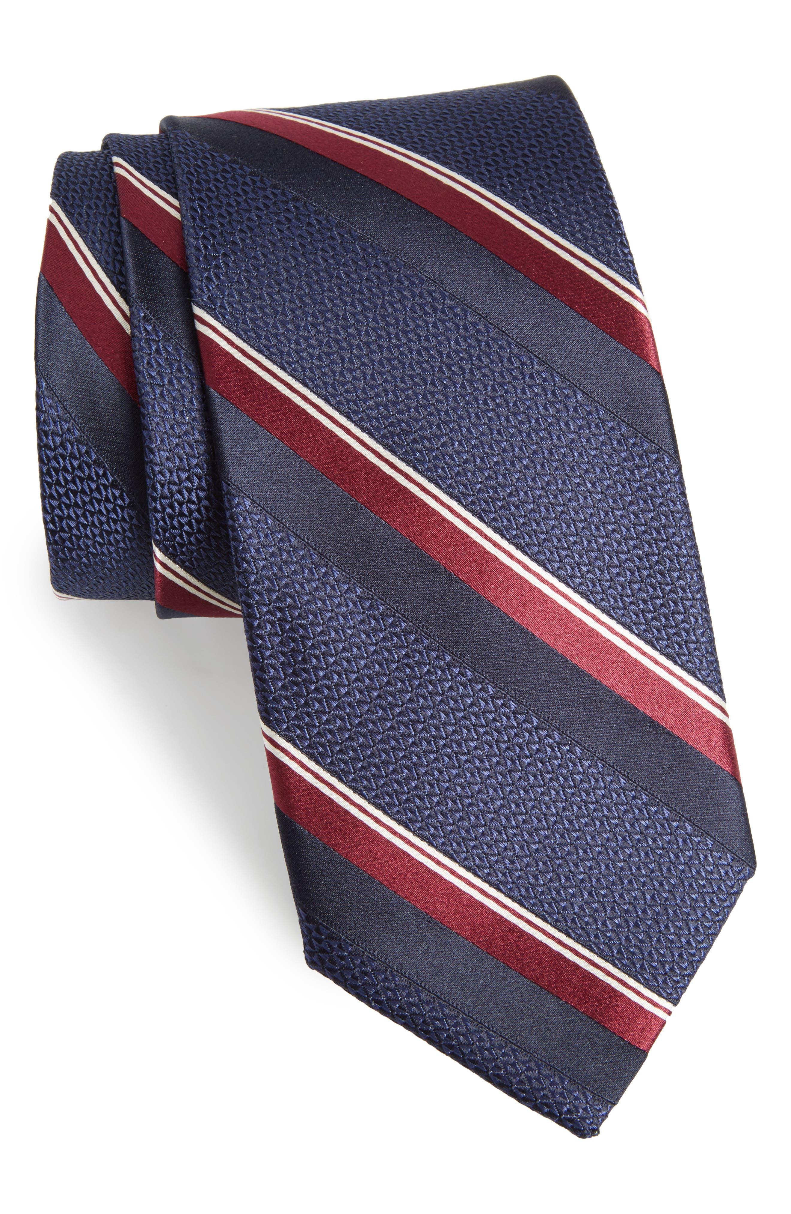 Alternate Image 1 Selected - Bonobos Stripe Silk Tie