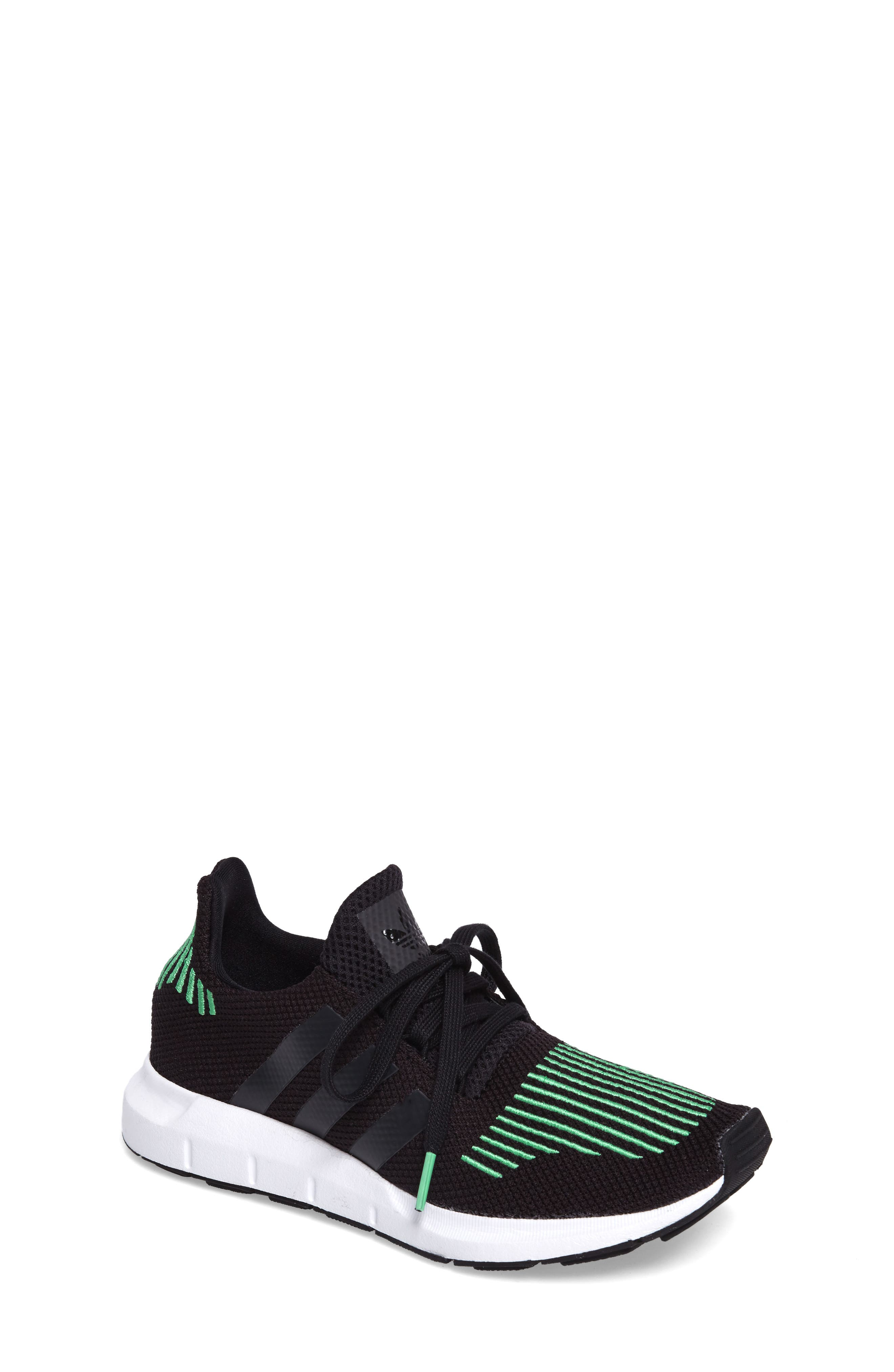 adidas Swift Run Sock Knit Sneaker (Big Kid)