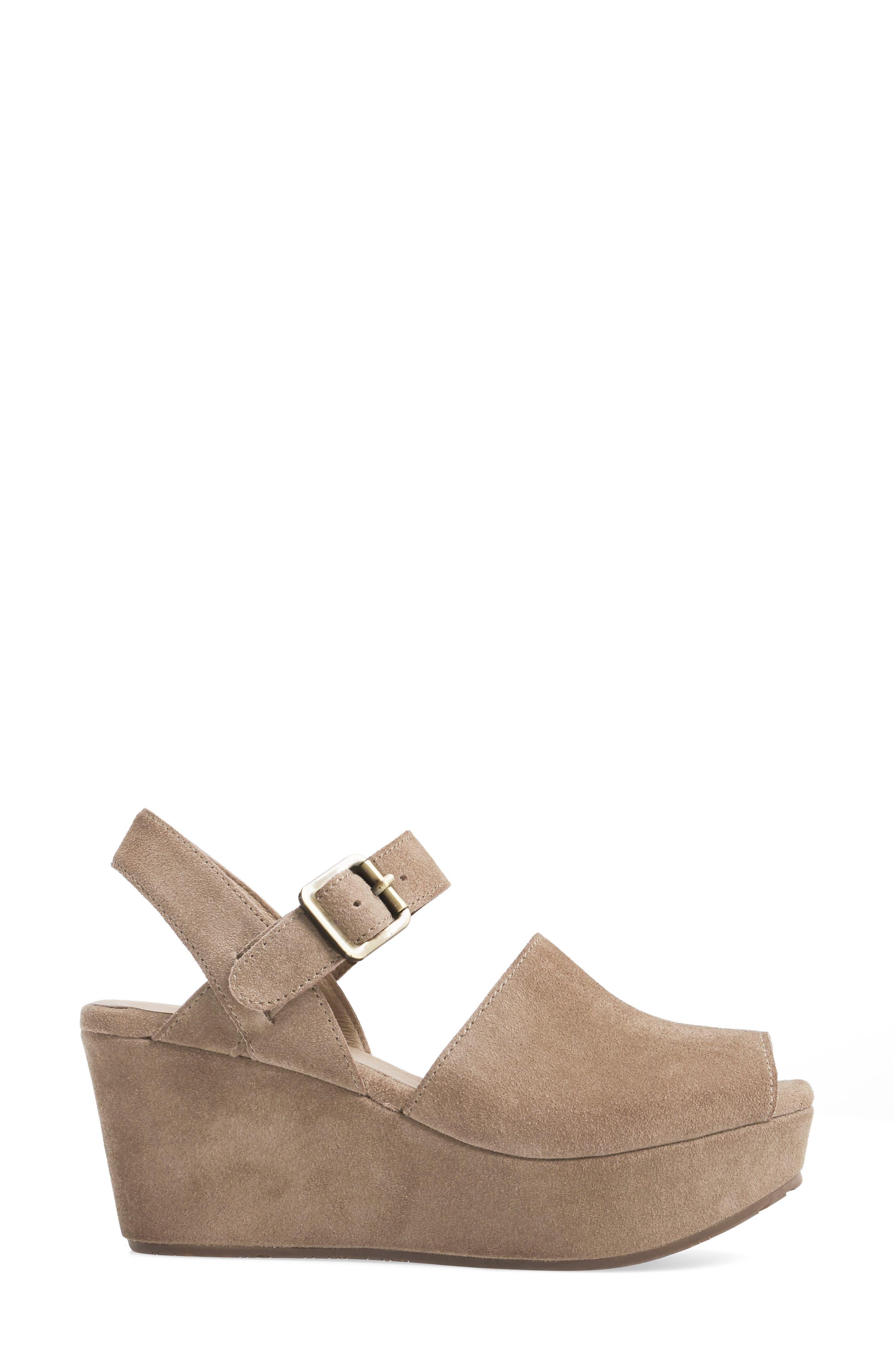 Alternate Image 3  - Chocolat Blu Wagga Platform Wedge Sandal (Women)