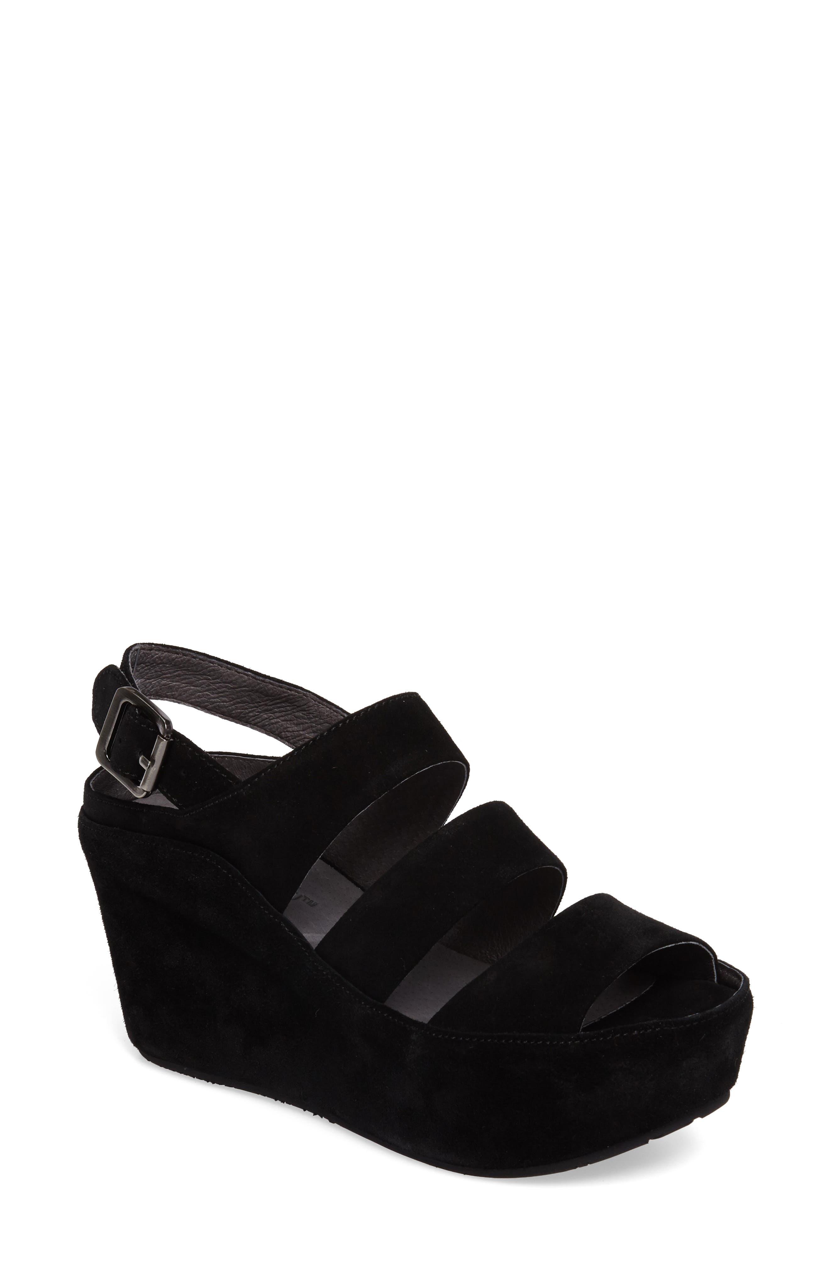 Alternate Image 1 Selected - Chocolat Blu Windsor Platform Wedge Sandal (Women)