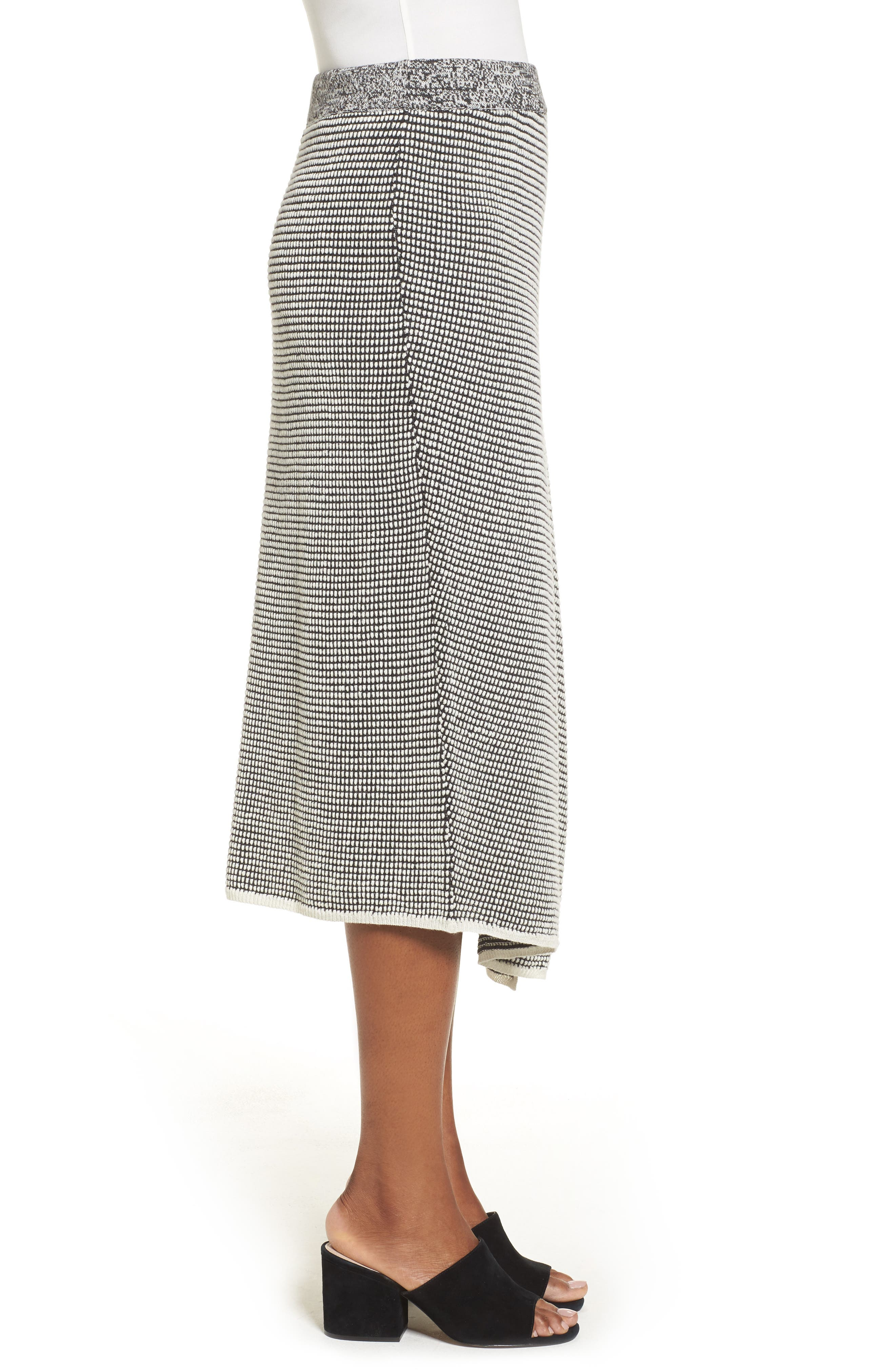 Frosted Fall Knit Skirt,                             Alternate thumbnail 3, color,                             Multi
