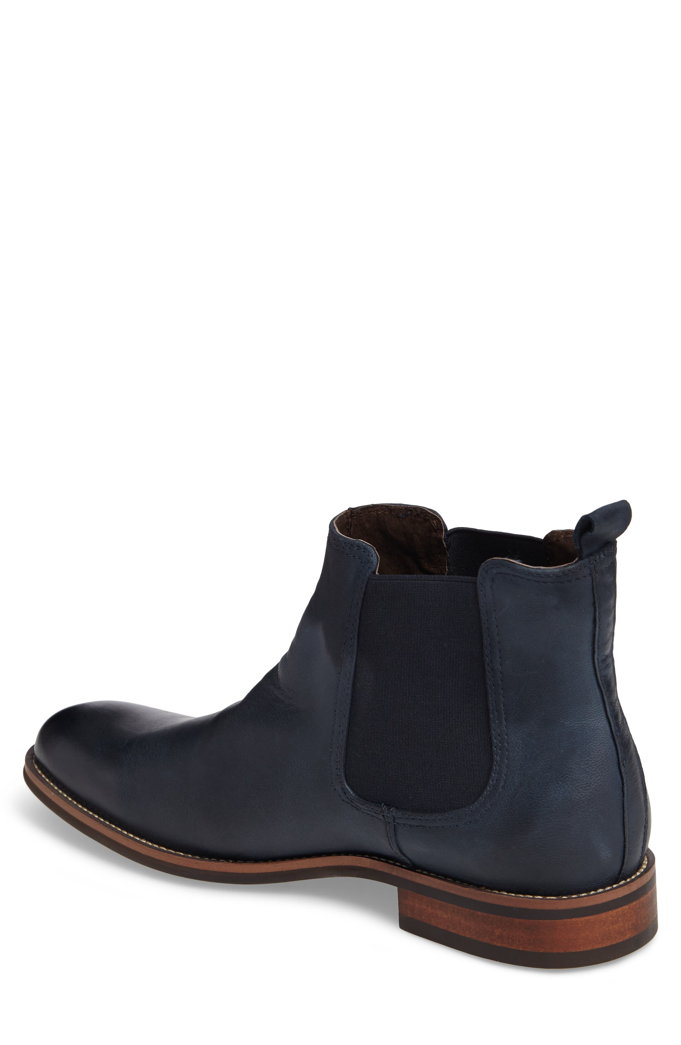 Lawson Chelsea Boot,                             Alternate thumbnail 2, color,                             Navy