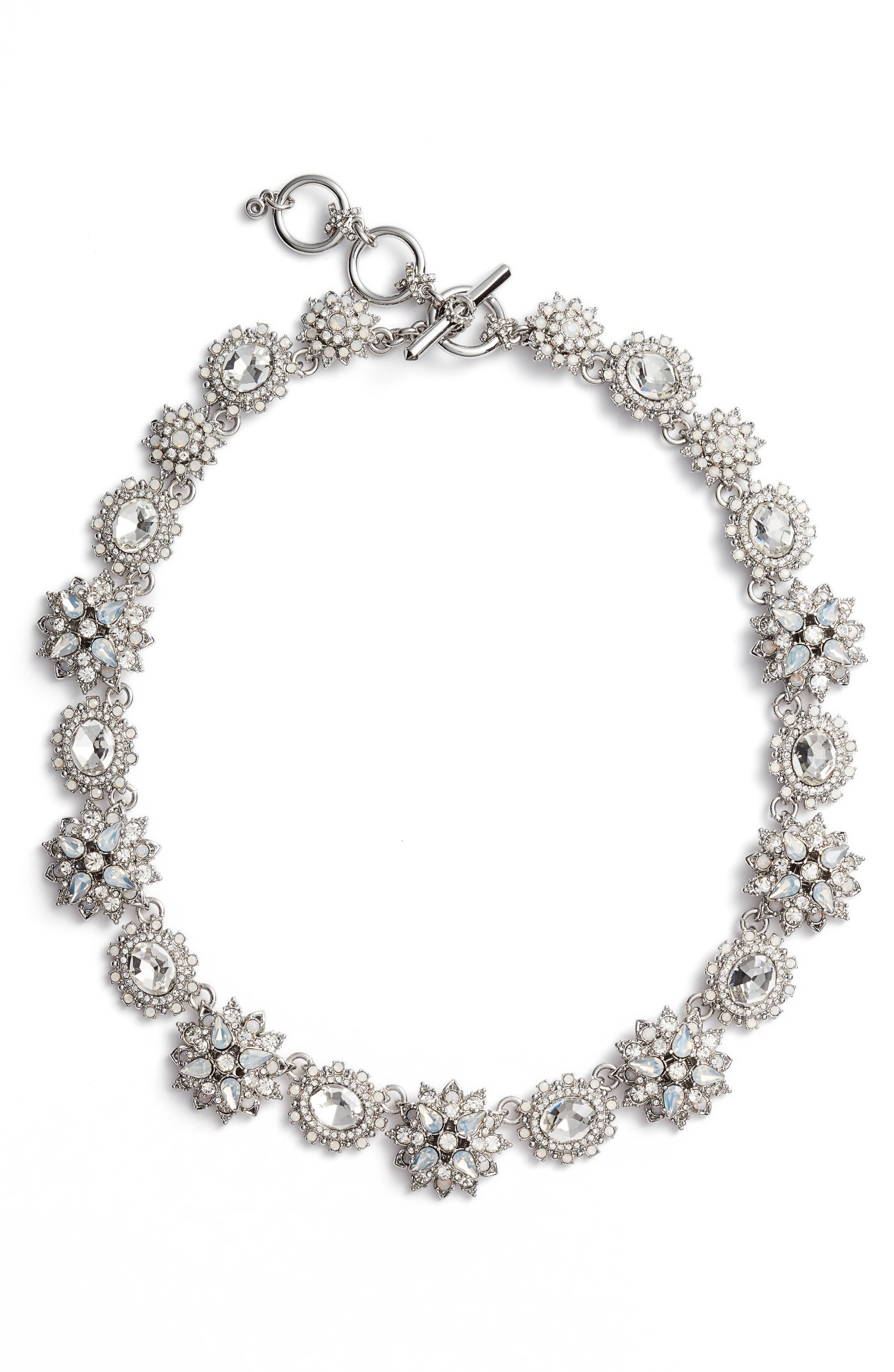 Alternate Image 1 Selected - Marchesa Crystal Collar Necklace