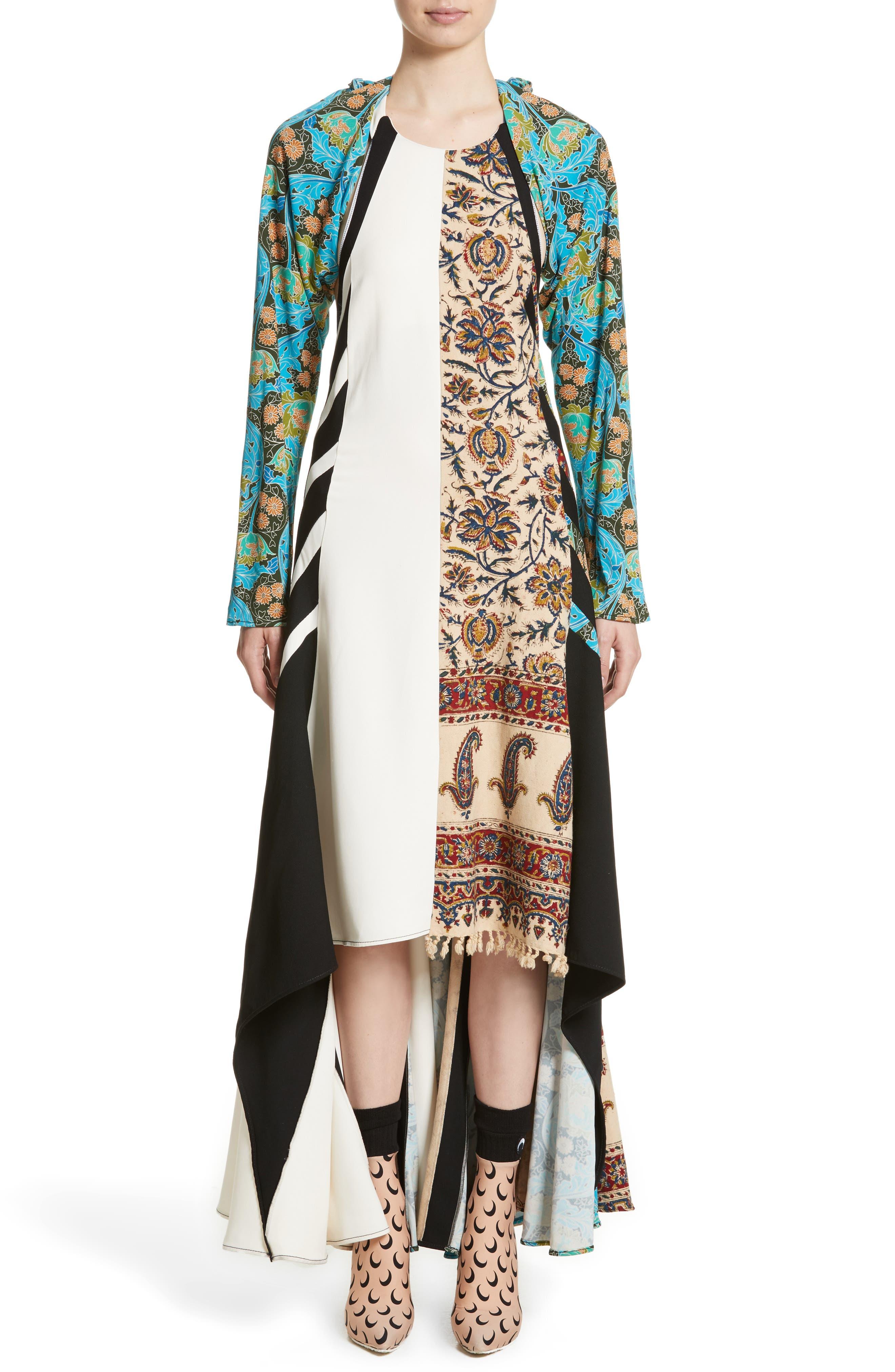 Carpet Dress,                         Main,                         color, Multi