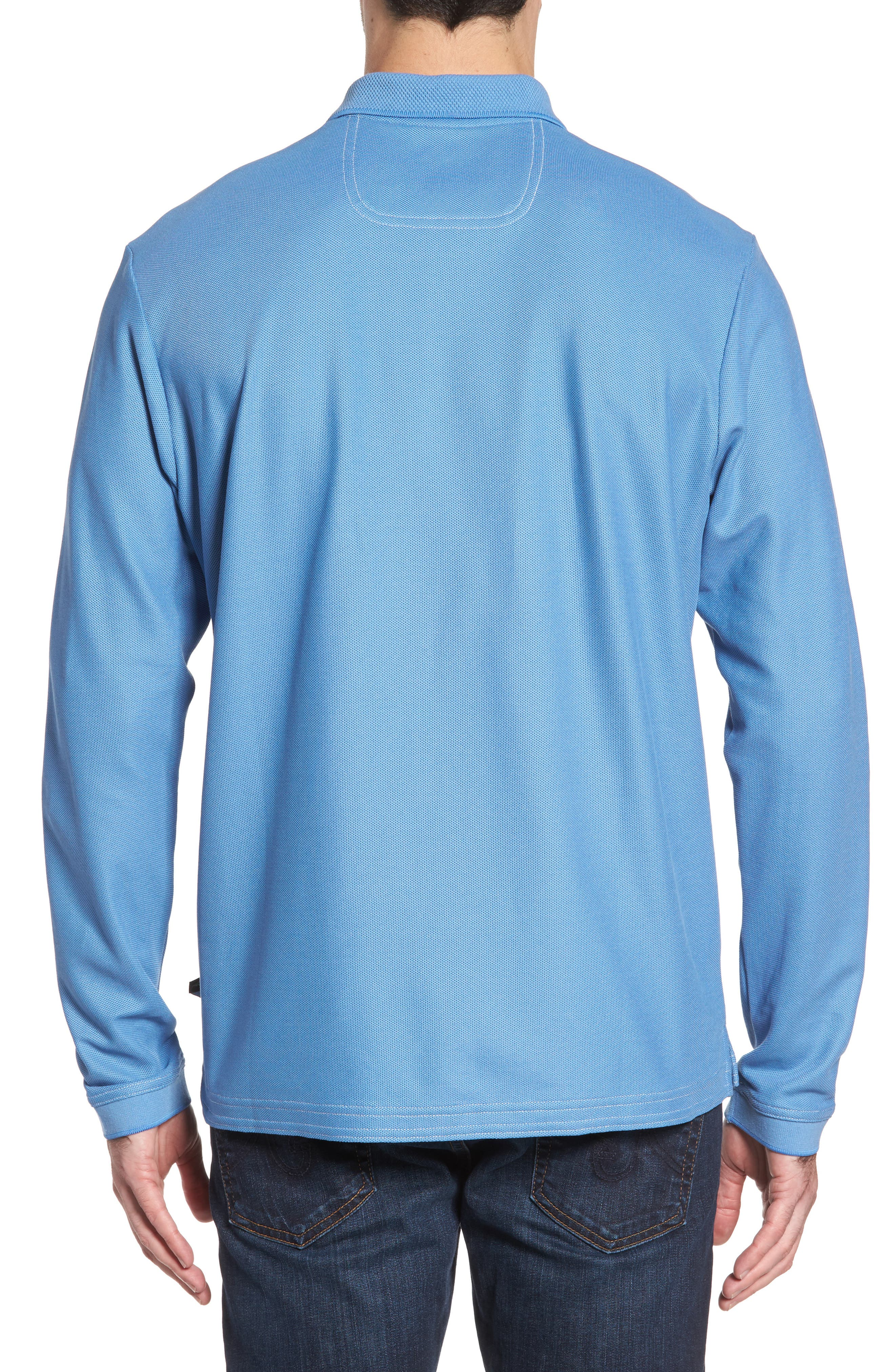 Alternate Image 2  - Tommy Bahama Emfielder Long Sleeve Polo