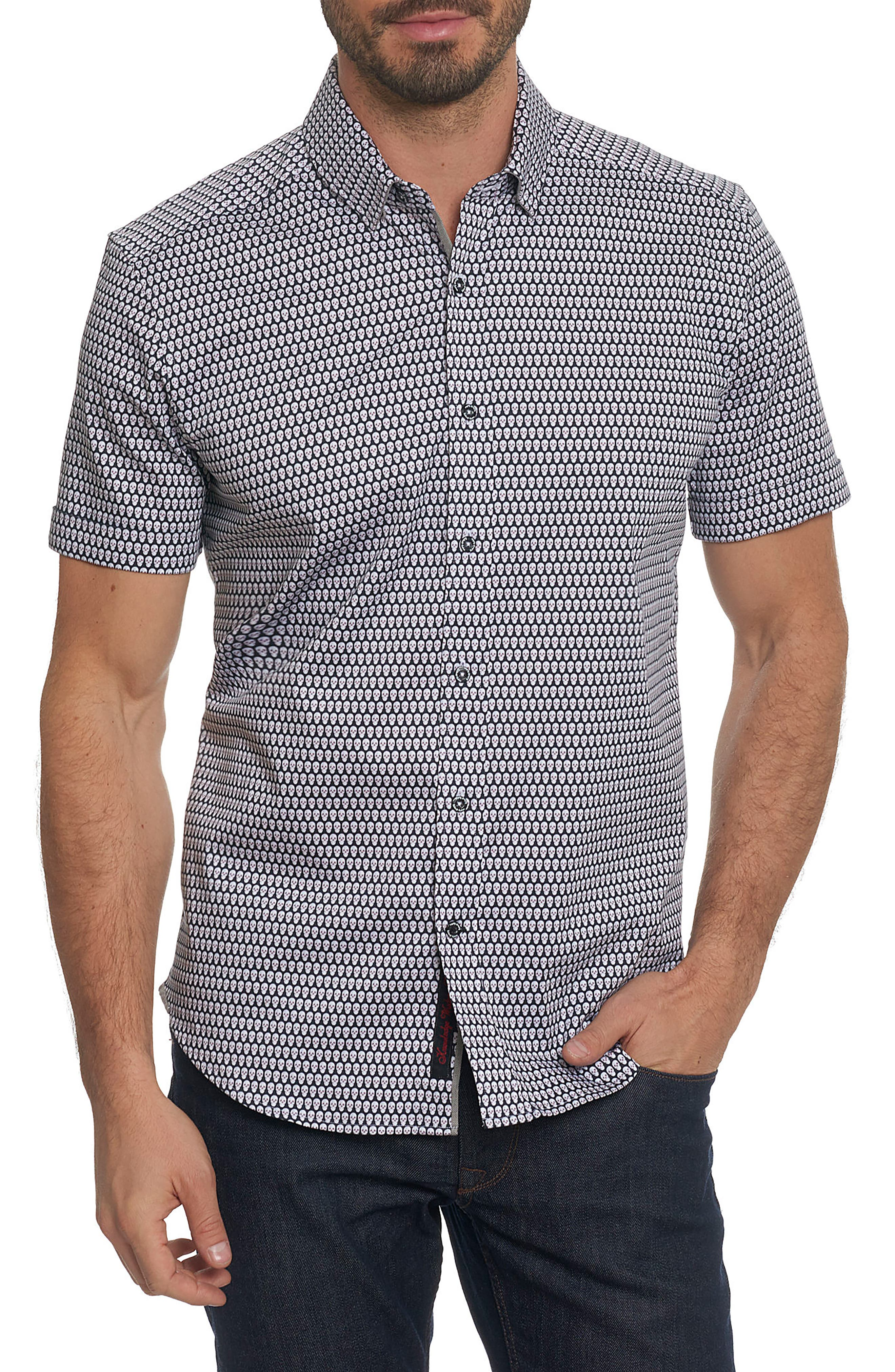 Alternate Image 1 Selected - Robert Graham Weston Woven Sport Shirt