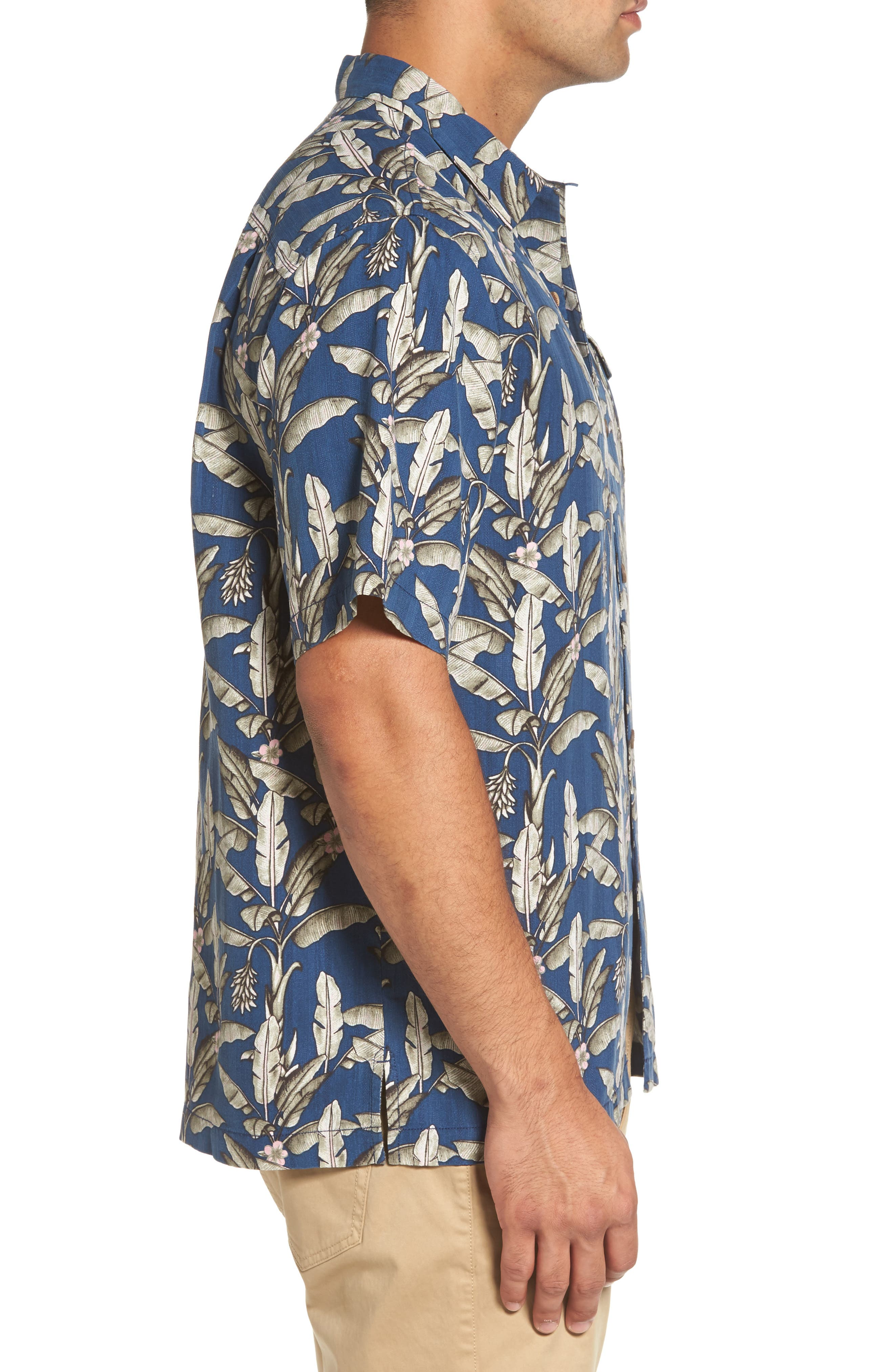 Alternate Image 3  - Tommy Bahama Sahara Fronds Silk Woven Shirt