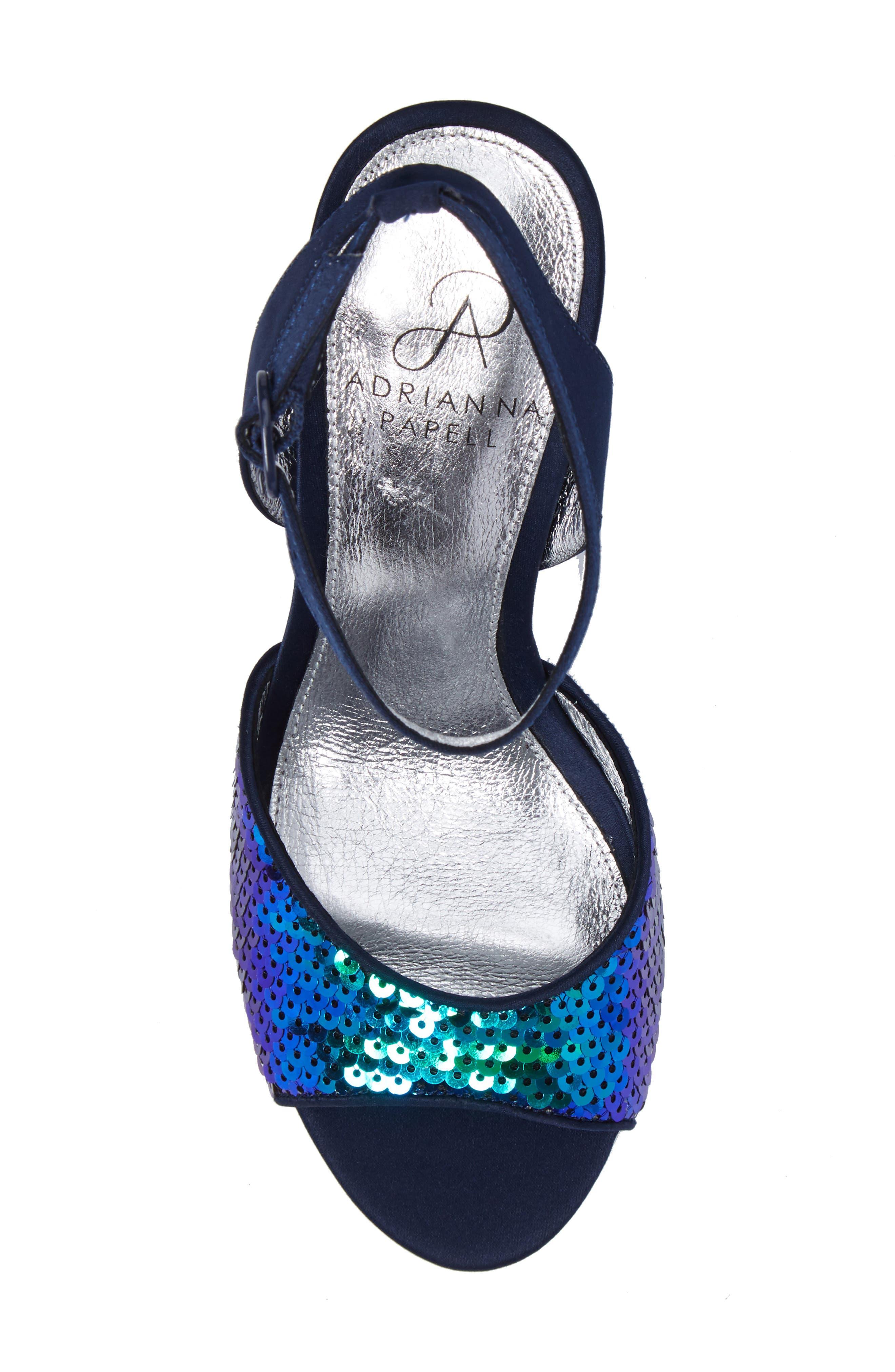 Alternate Image 5  - Adrianna Papell Astrid Ankle Strap Sandal (Women)