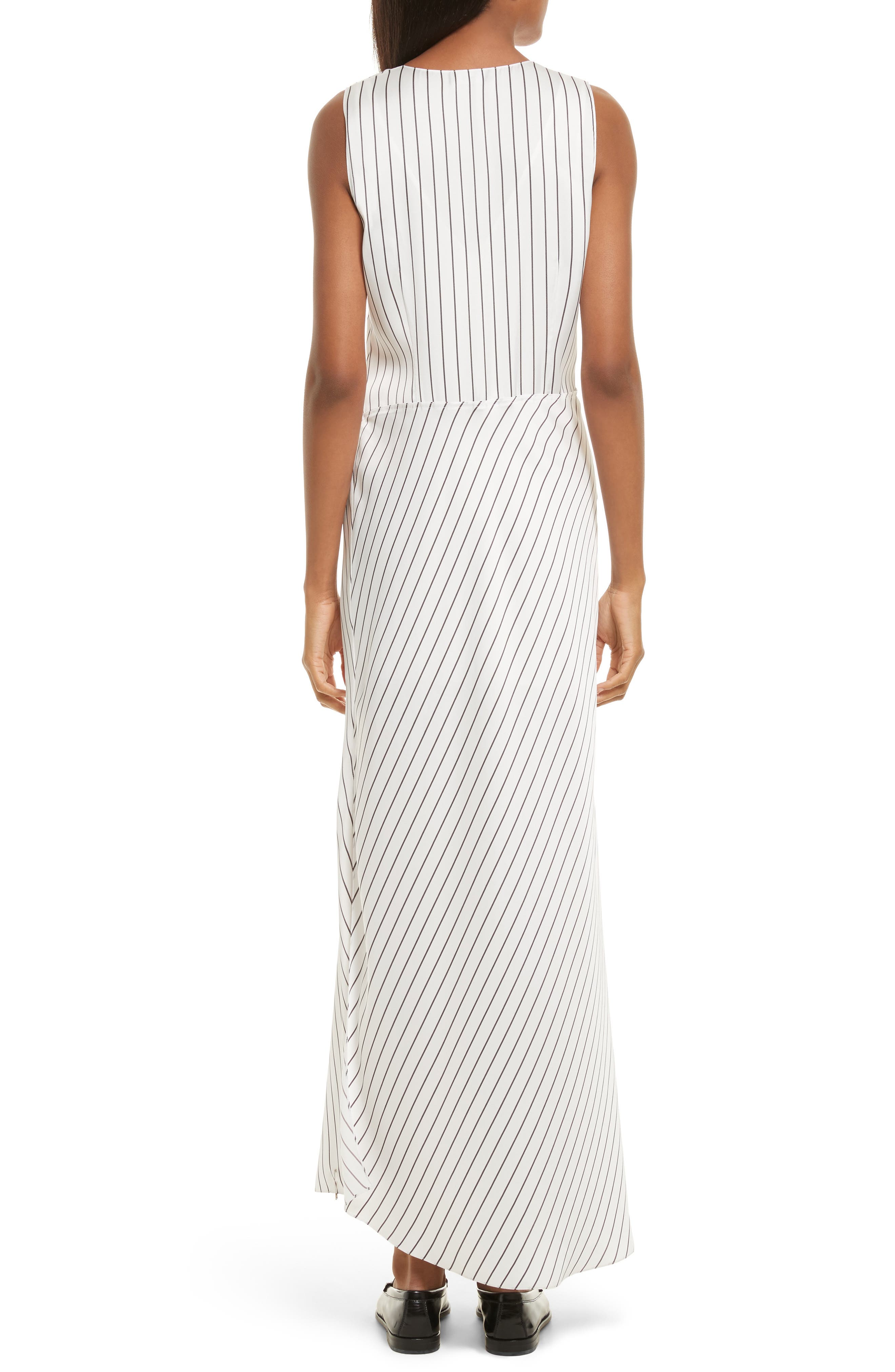 Alternate Image 2  - Theory Stripe Maxi Dress