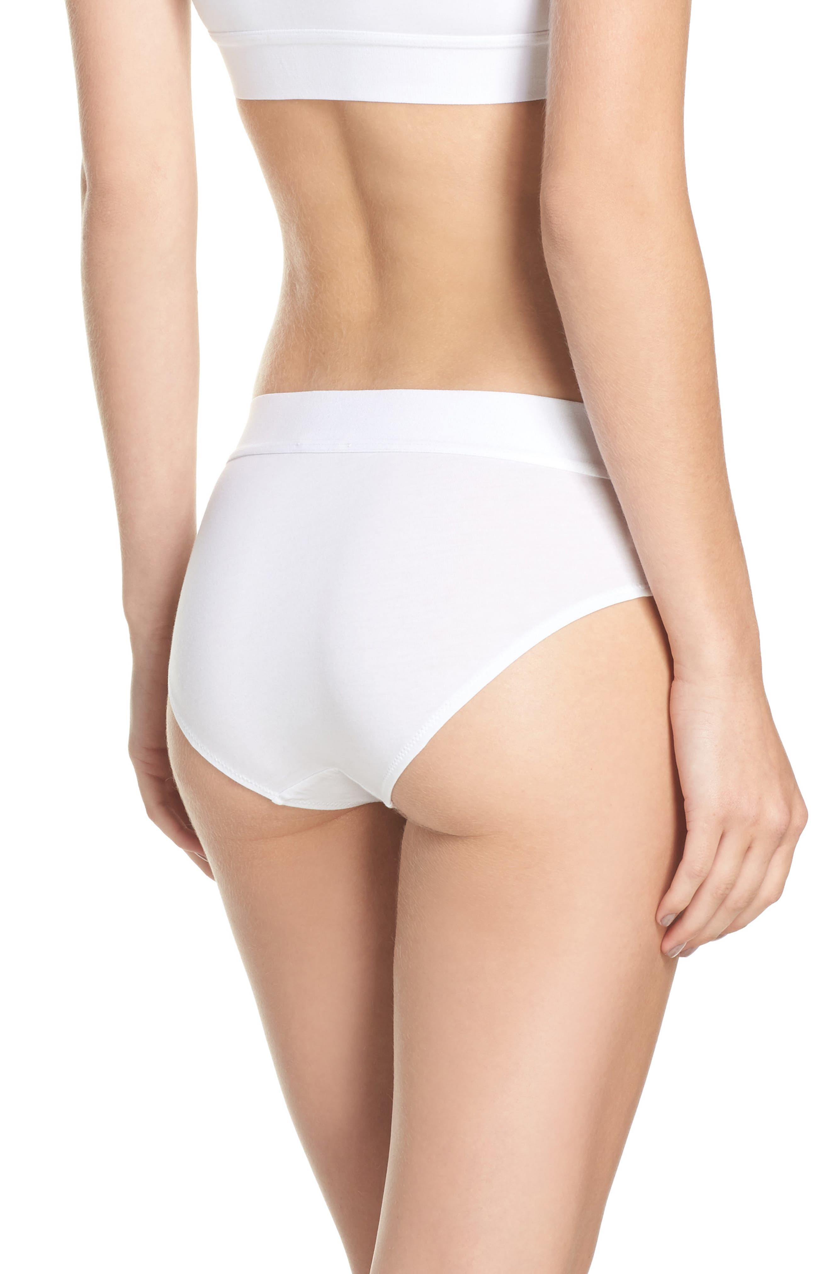Hadlee Hipster Briefs,                             Alternate thumbnail 3, color,                             White