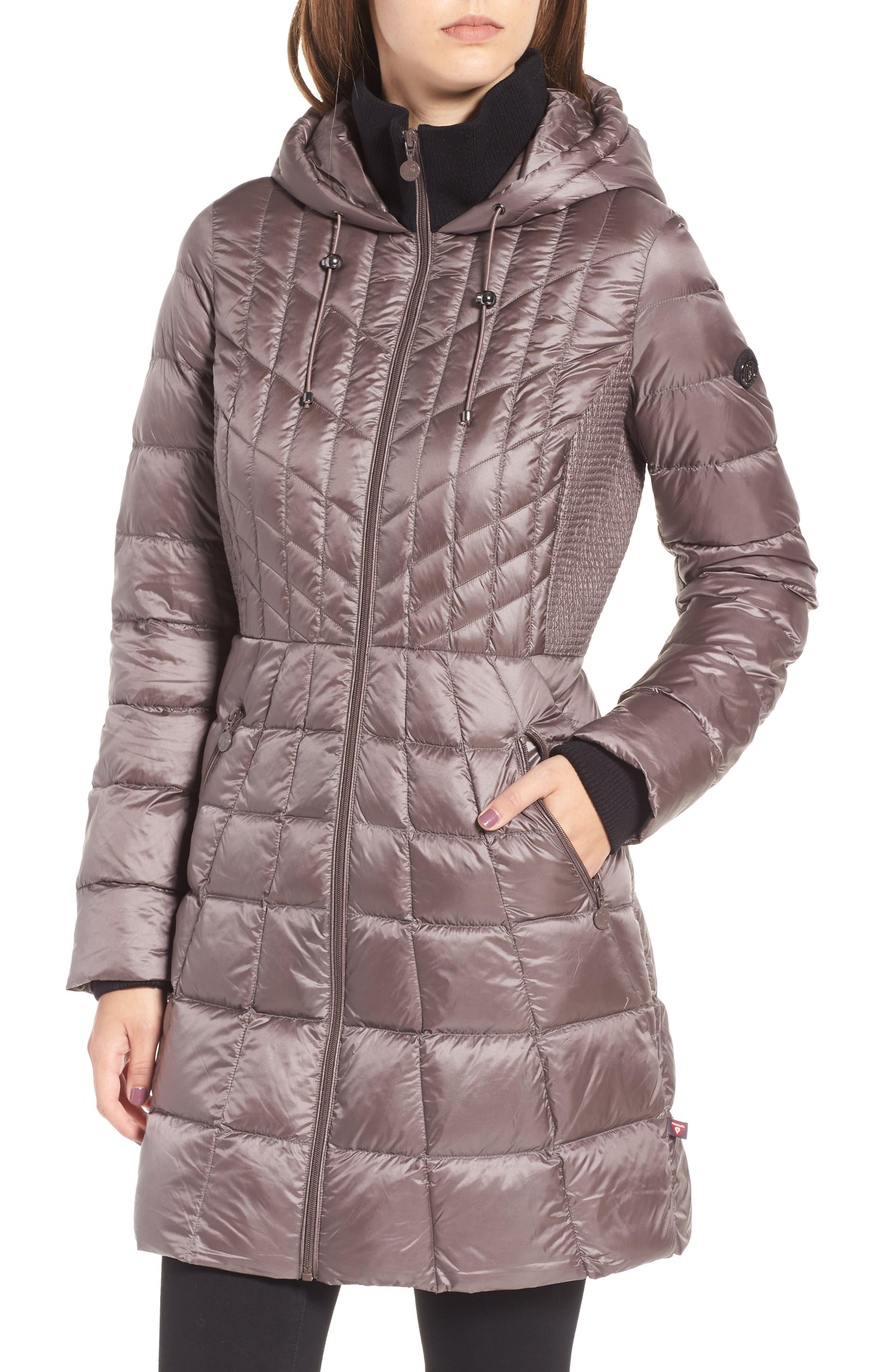 Alternate Image 4  - Bernardo Down & PrimaLoft® Coat (Regular & Petite)