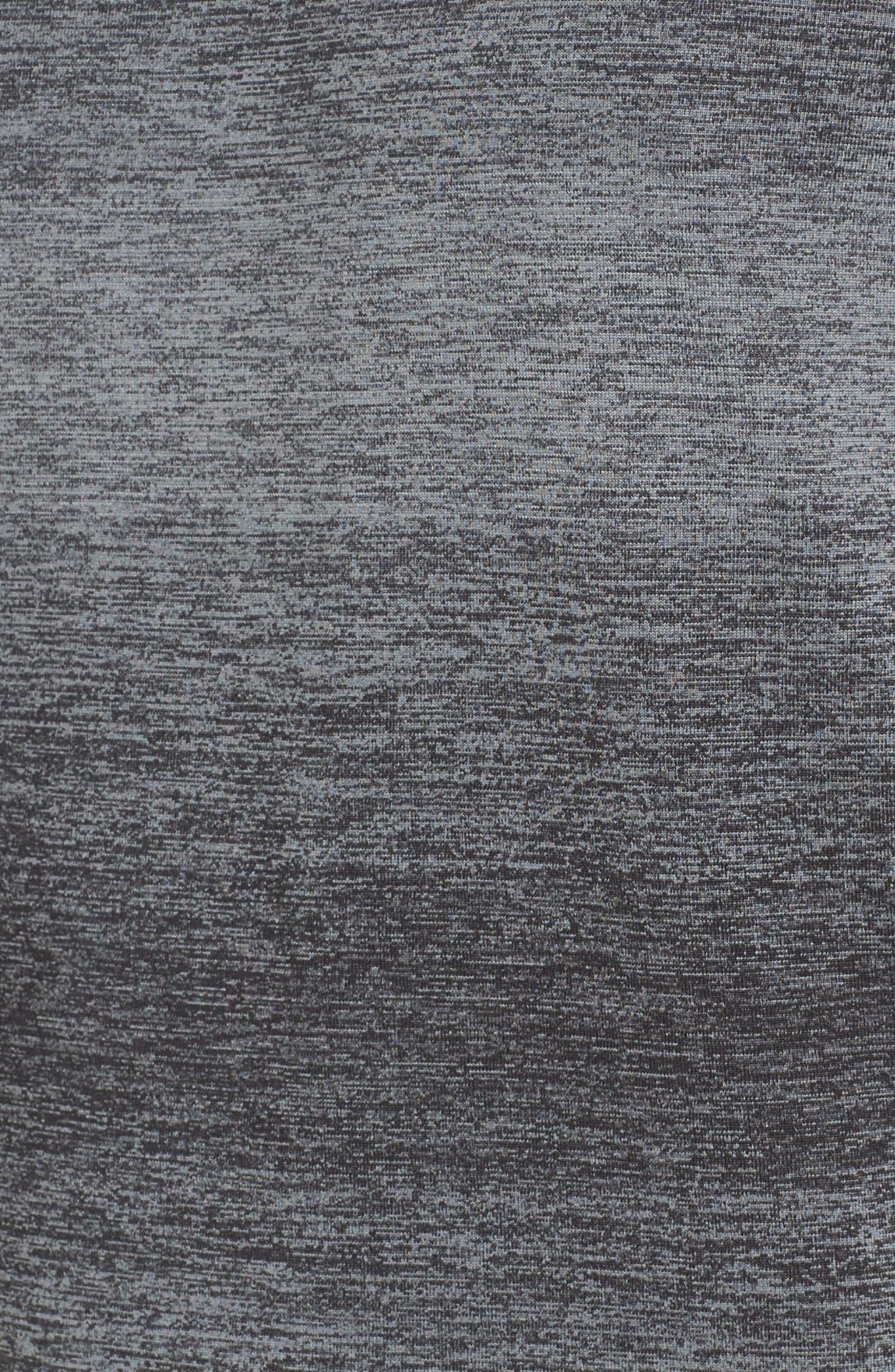 Ultra Dry Tech T-Shirt,                             Alternate thumbnail 5, color,                             Rk6 Black/ Black-Copper Orange